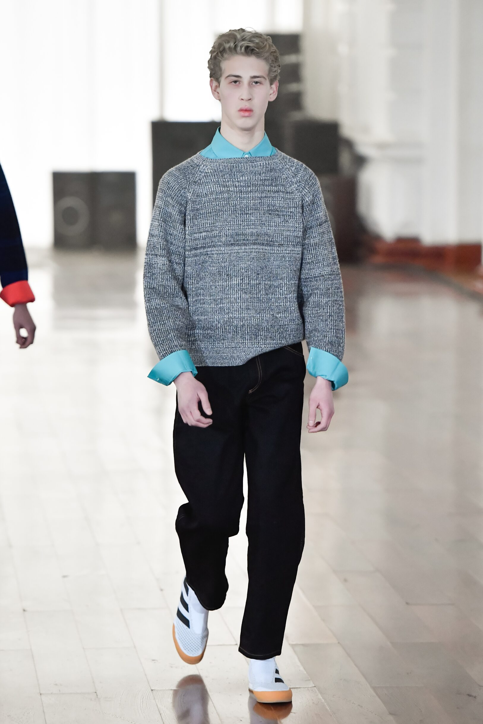 Fashion Model Gosha Rubchinskiy Catwalk