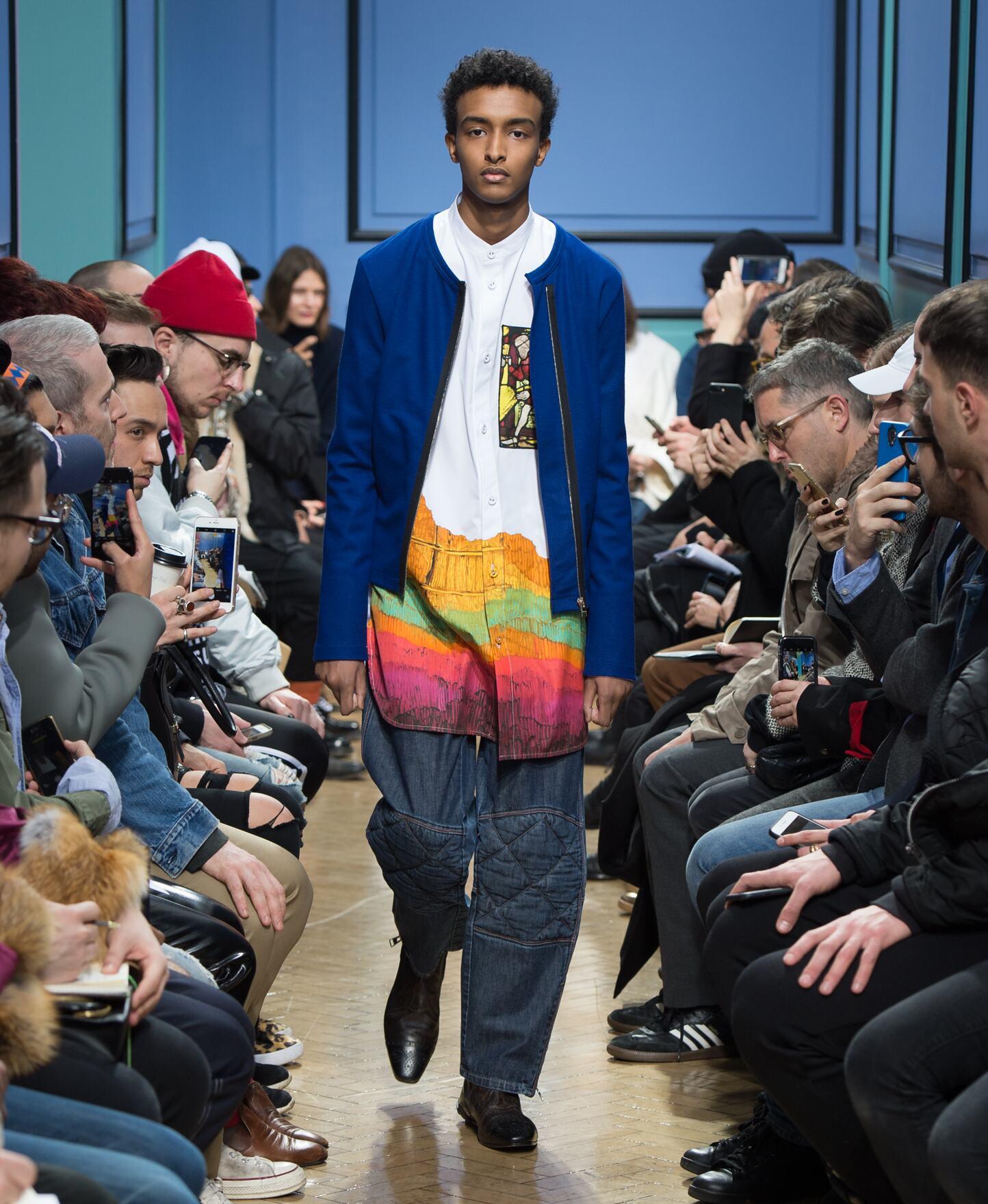 Fashion Model J.W Anderson Catwalk