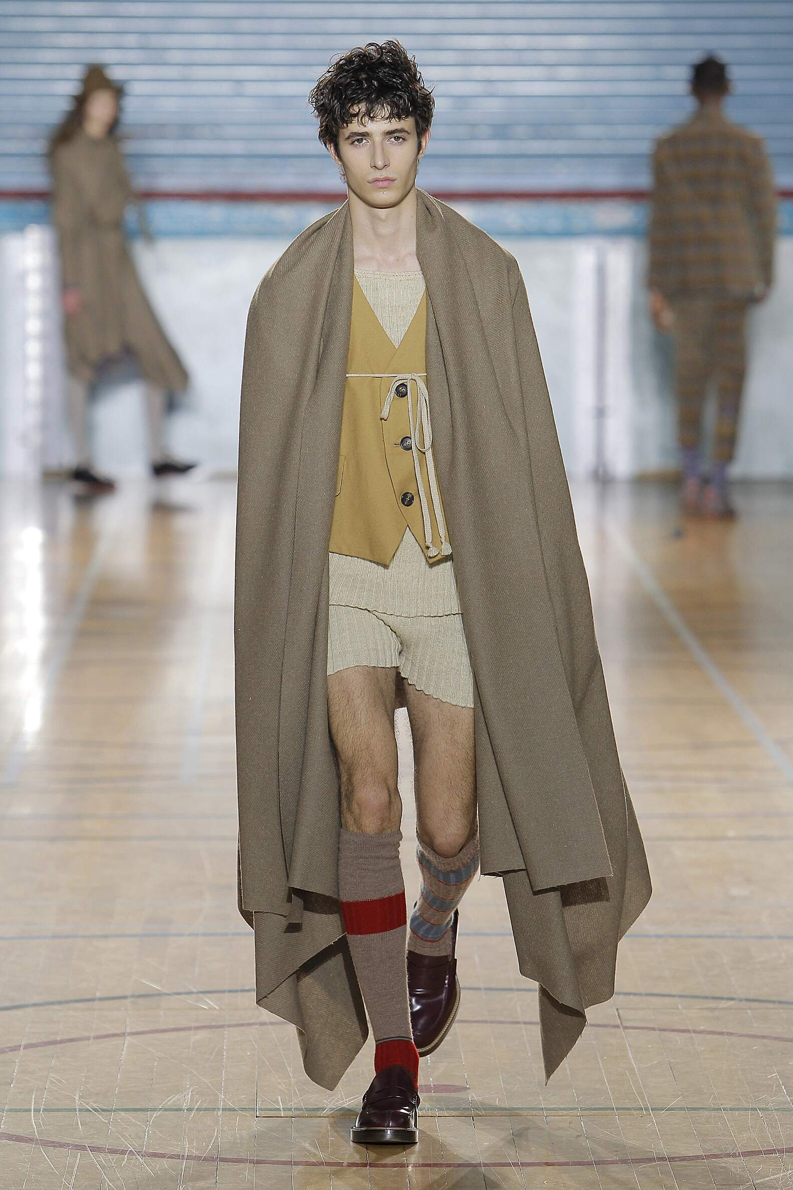 Fashion Model Vivienne Westwood Catwalk