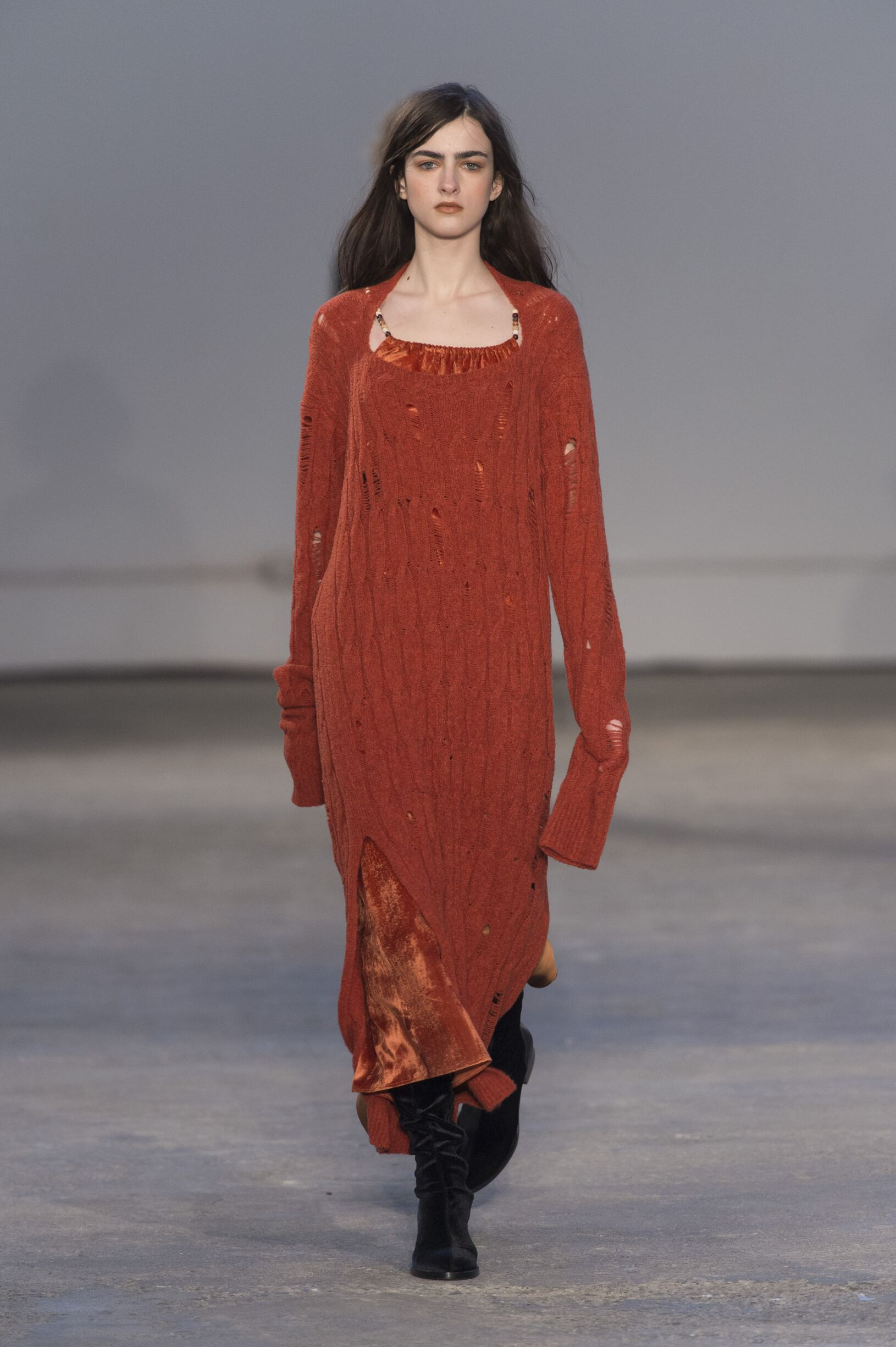 Fashion Woman Model Damir Doma Catwalk