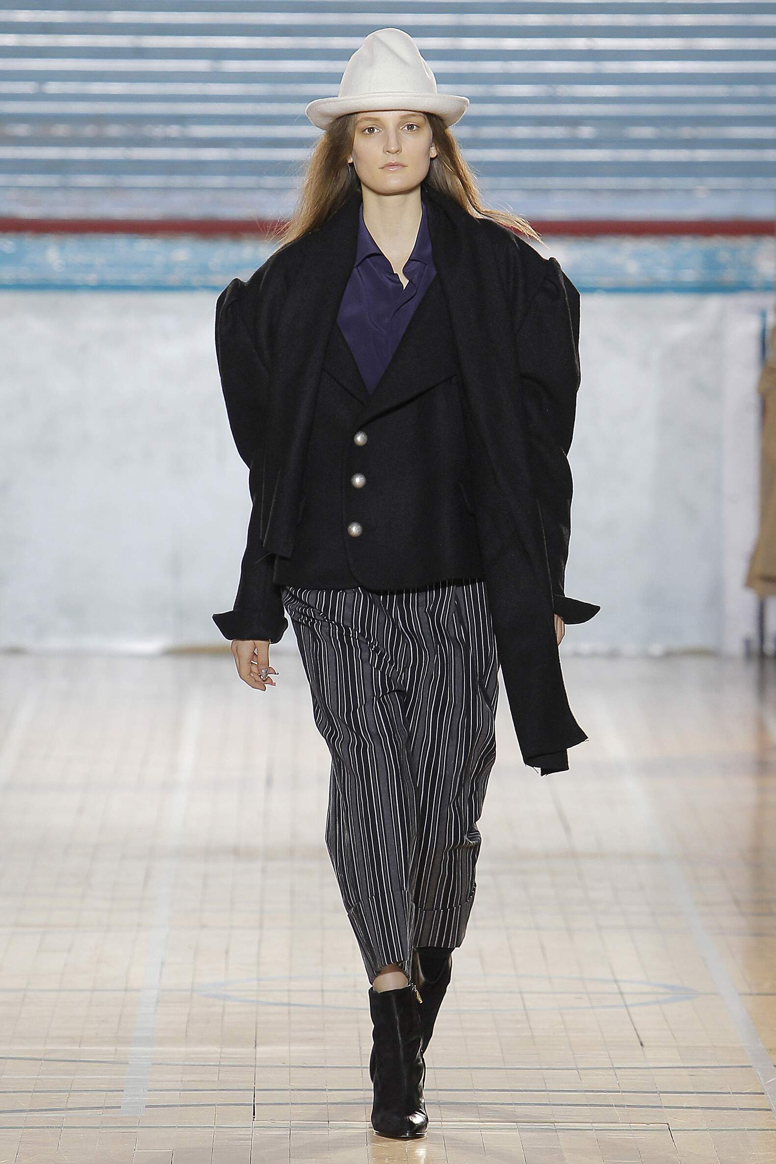 Fashion Woman Model Vivienne Westwood Catwalk