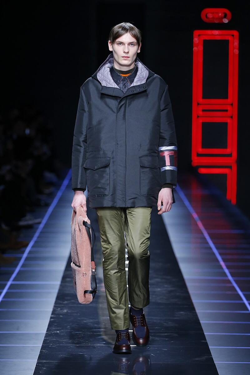 Fendi FW 2017 Menswear