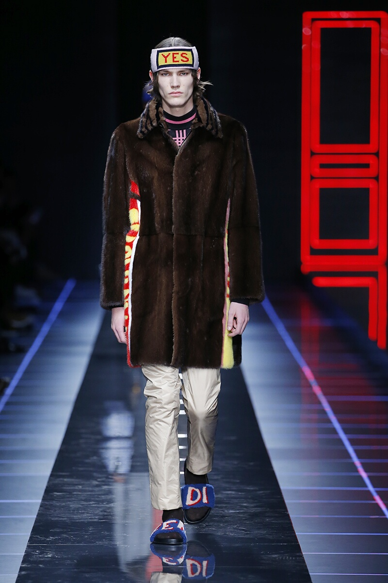 Fendi Fall Winter 2017 Mens Collection Milan Fashion Week