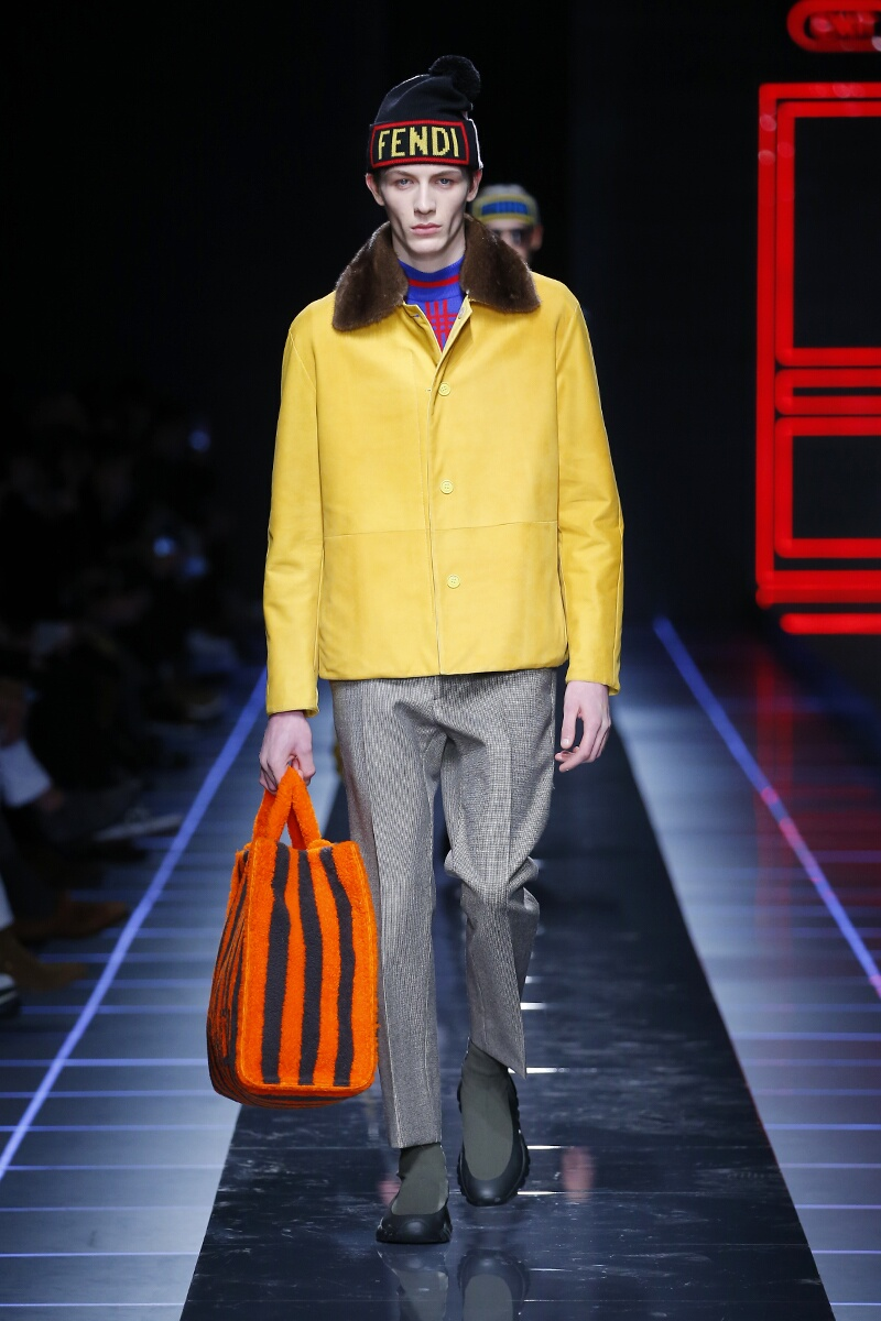 Fendi Fall Winter 2017 18 Men S Collection The Skinny Beep