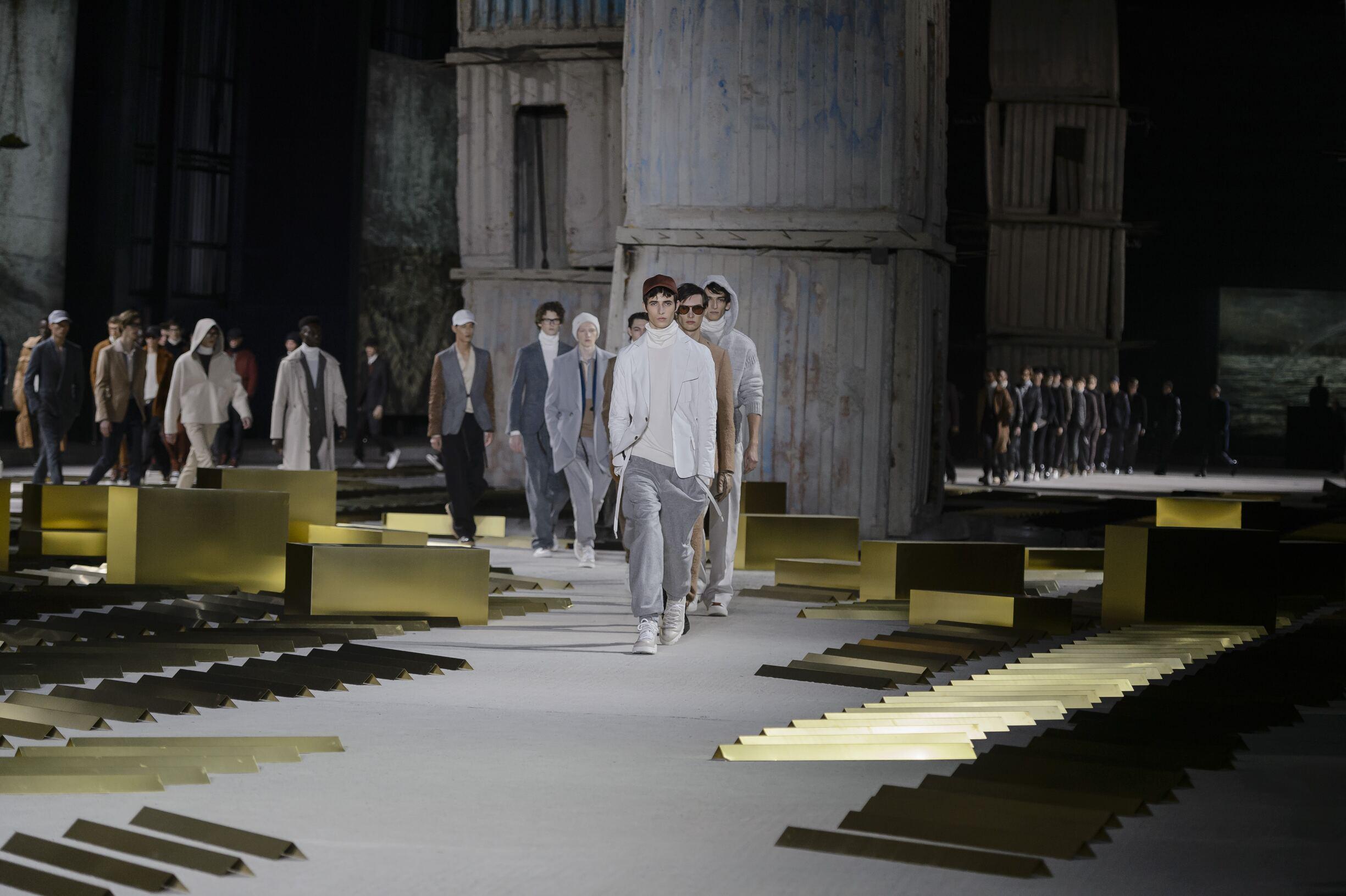Finale Fashion Show Ermenegildo Zegna