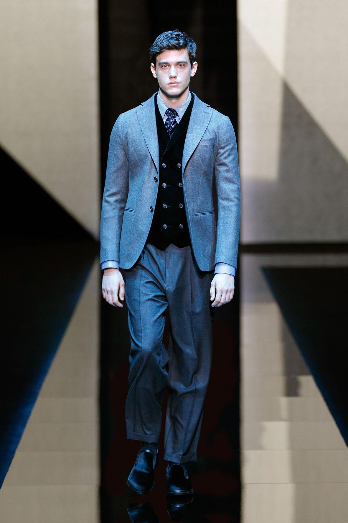 Giorgio Armani Fashion Show FW 2017