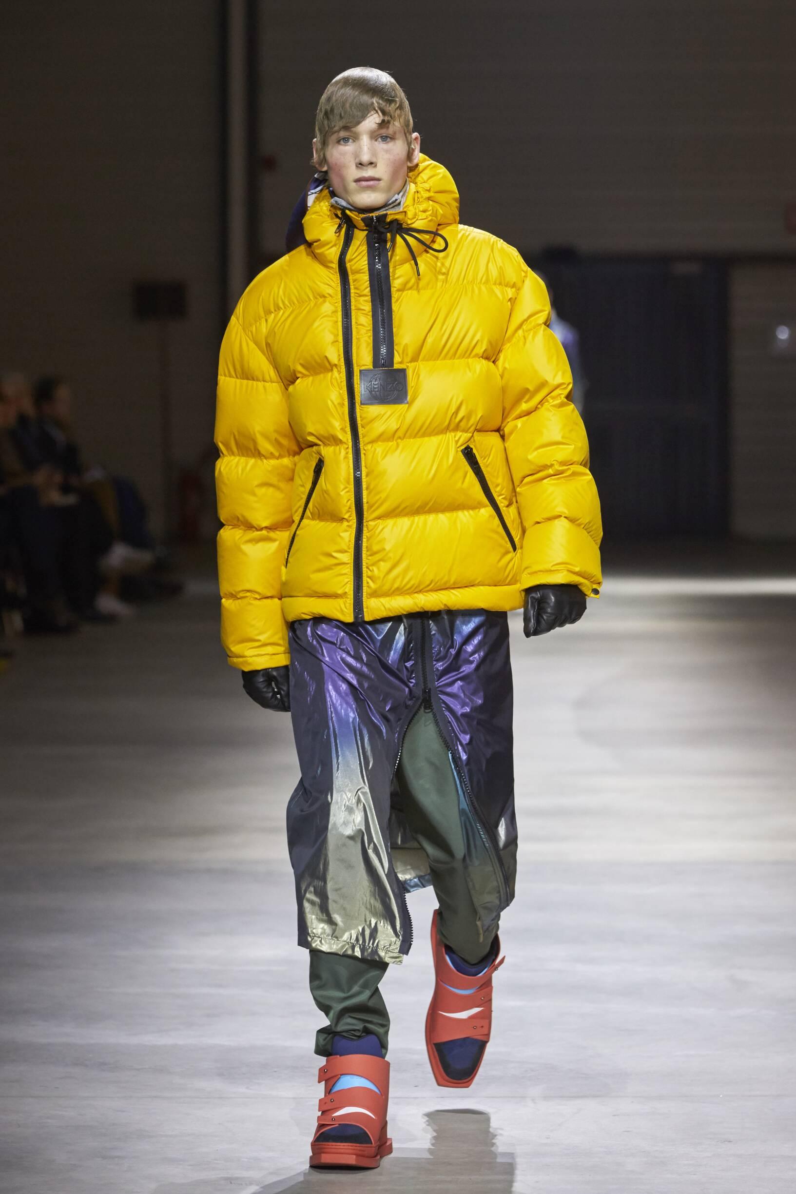 Kenzo Man Winter 2017 Catwalk
