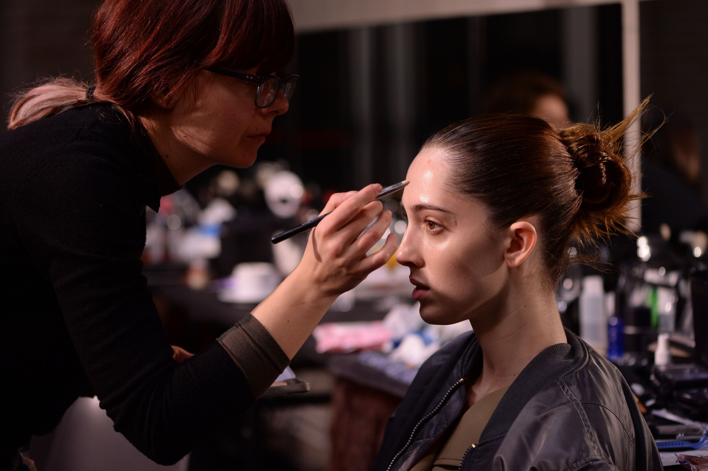 Make Up Diesel Backstage