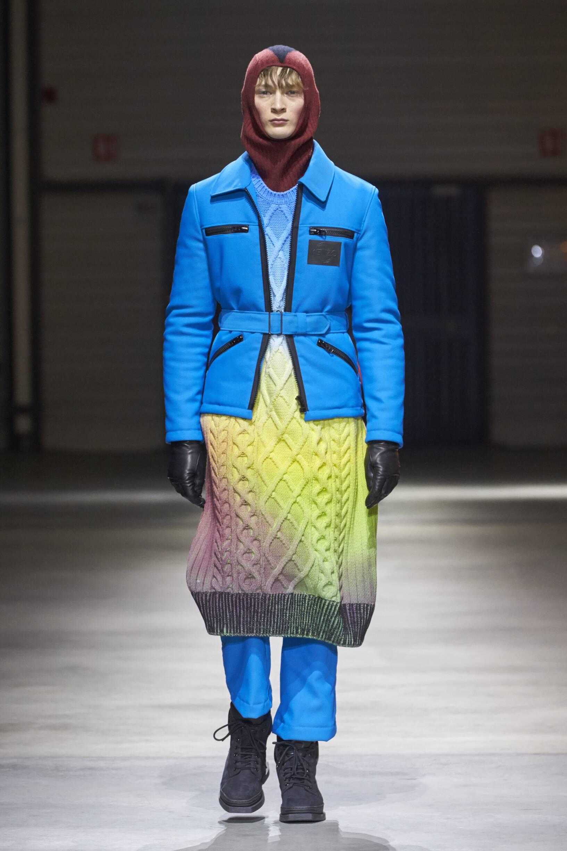 Man FW 2017-18 Fashion Show Kenzo