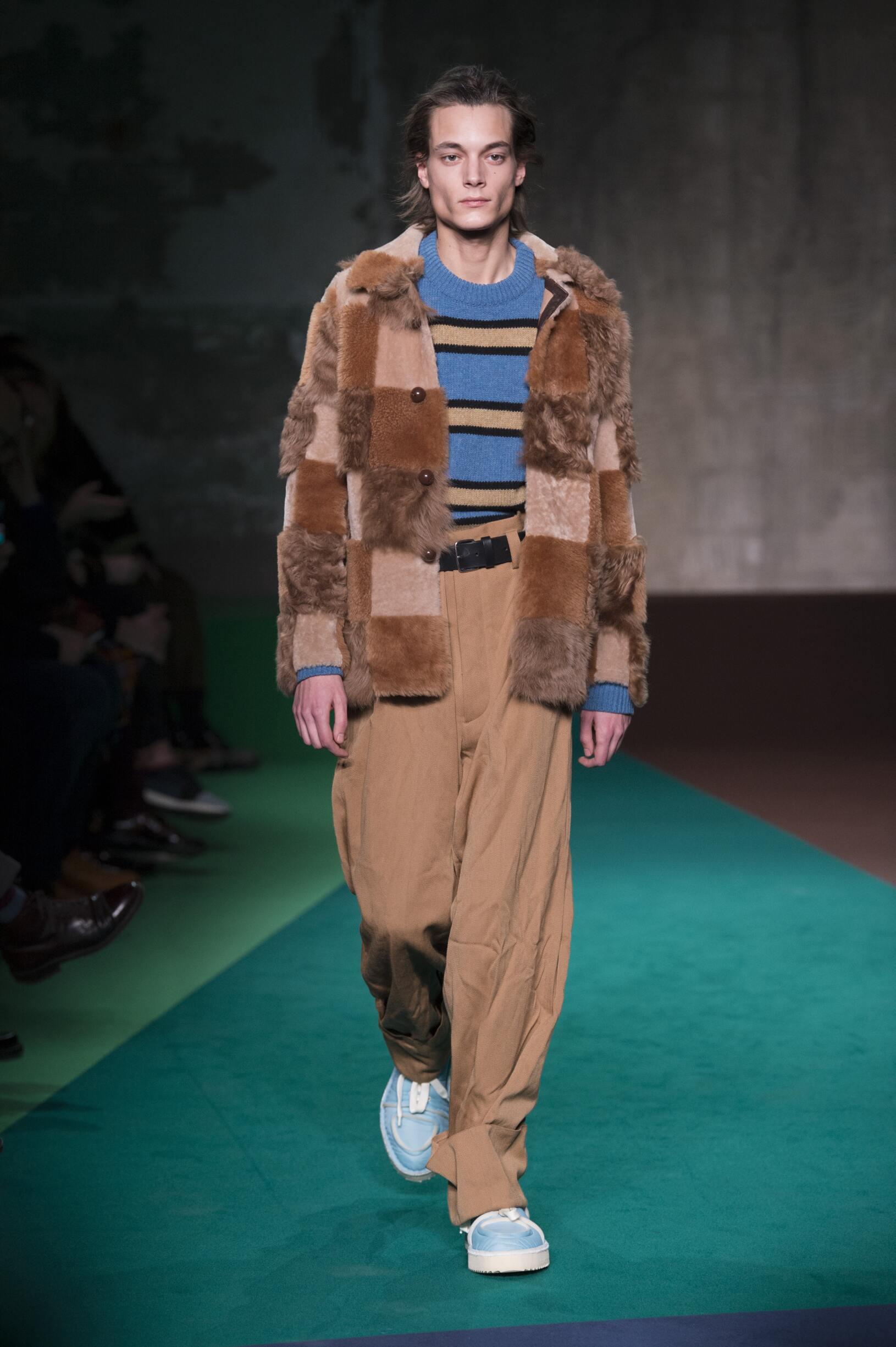 Marni Fall Winter 2017 Mens Collection Milan Fashion Week
