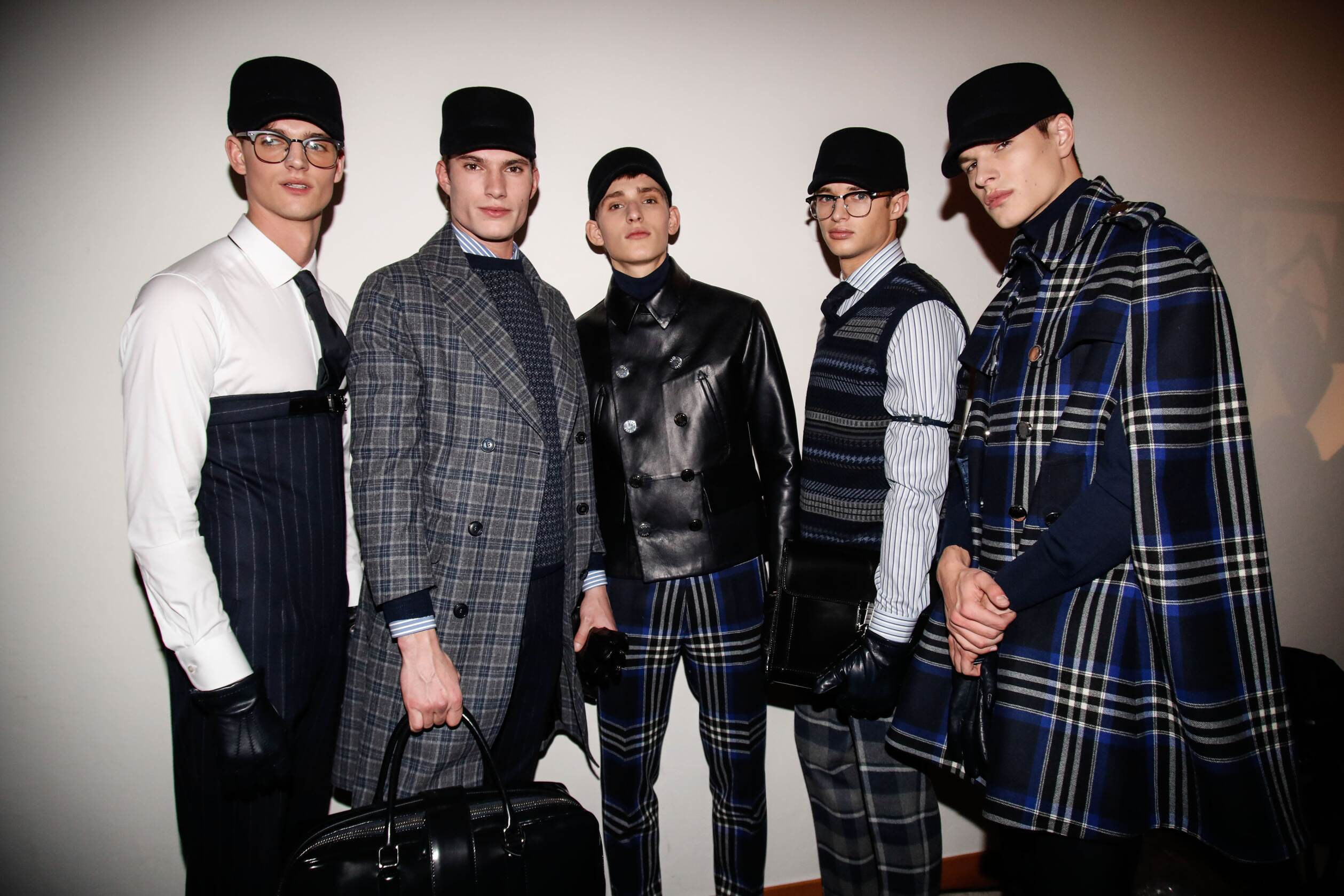 Men Backstage Daks 2017