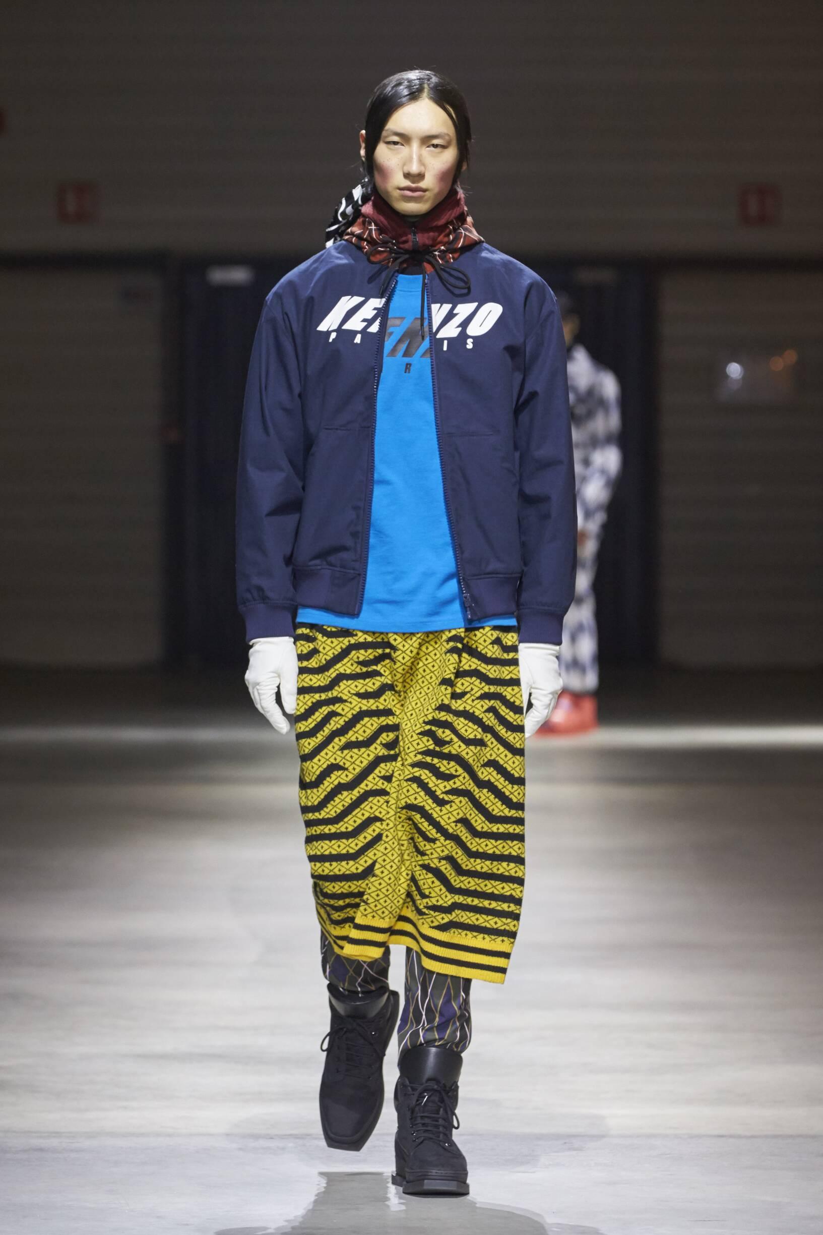 Mens Fall 2017 Fashion Trends Kenzo