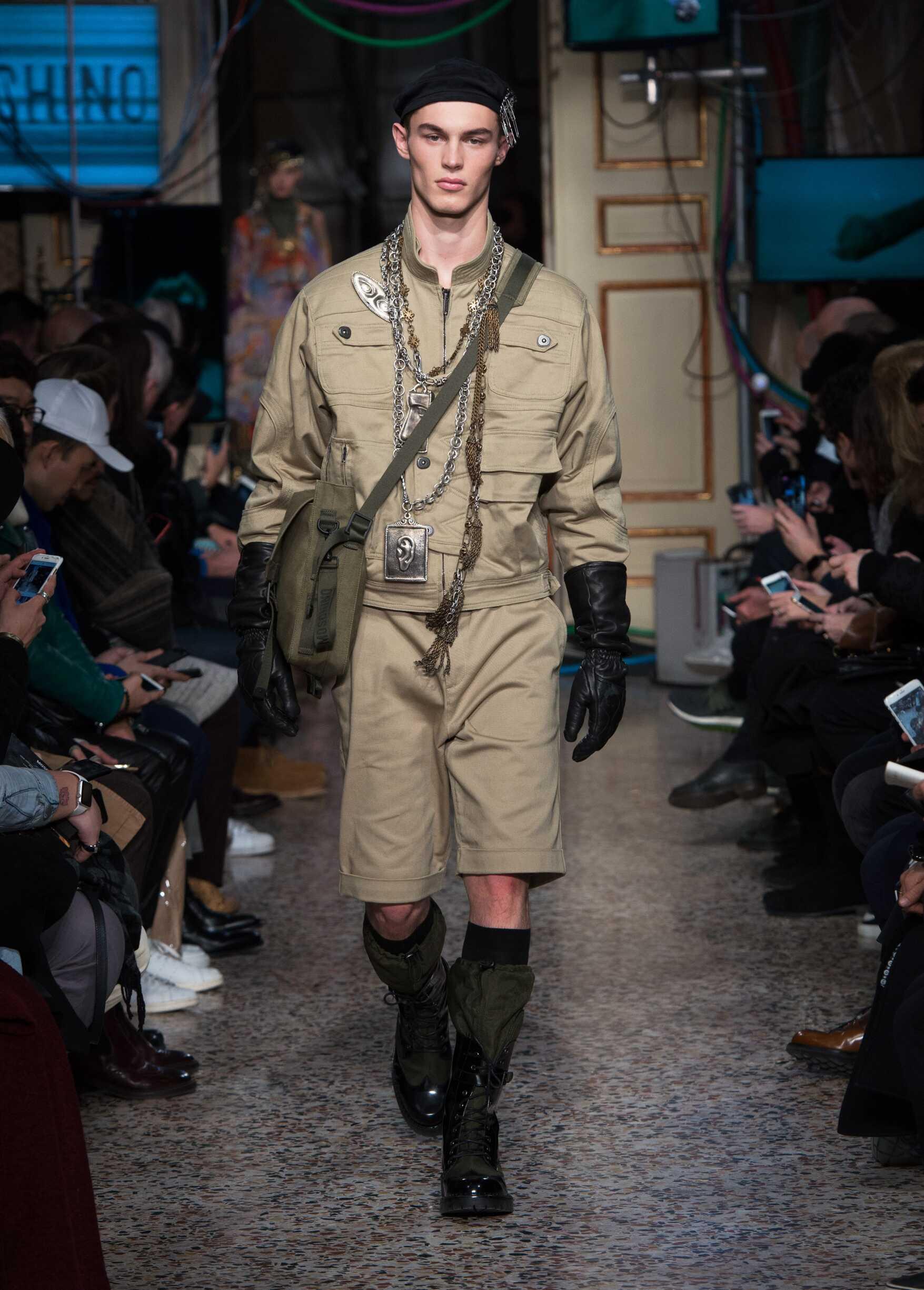 Menswear FW Moschino 2017