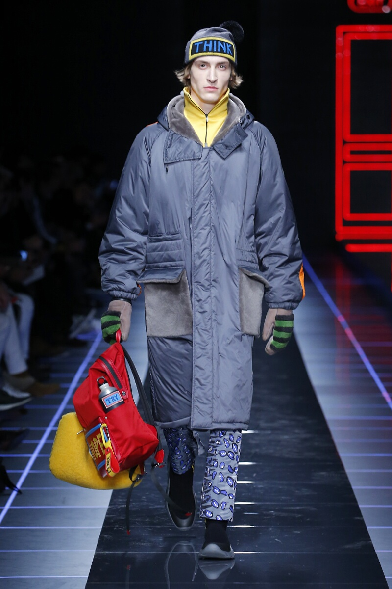 Menswear Winter Fendi 2017-2018
