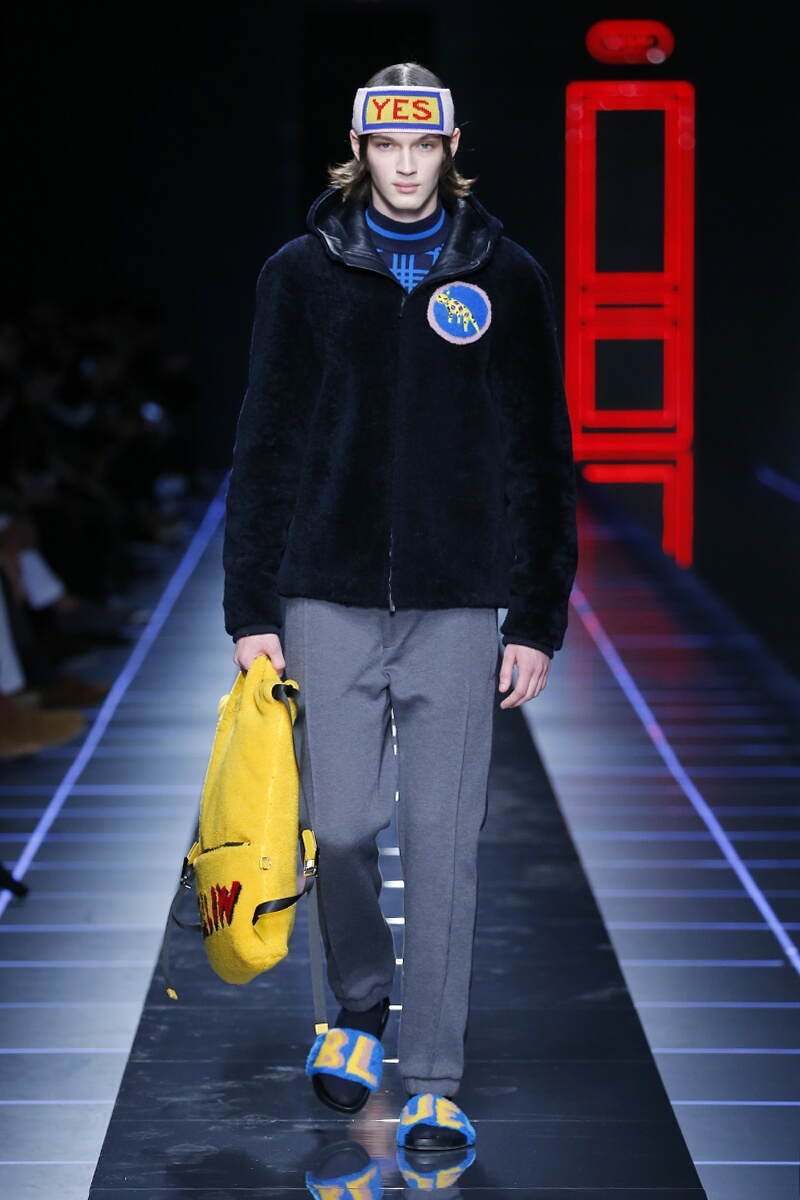 Menswear Winter Fendi 2017