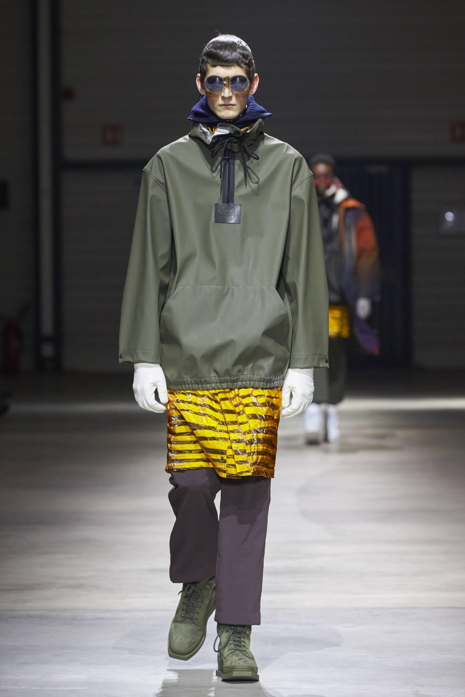 Menswear Winter Kenzo 2017