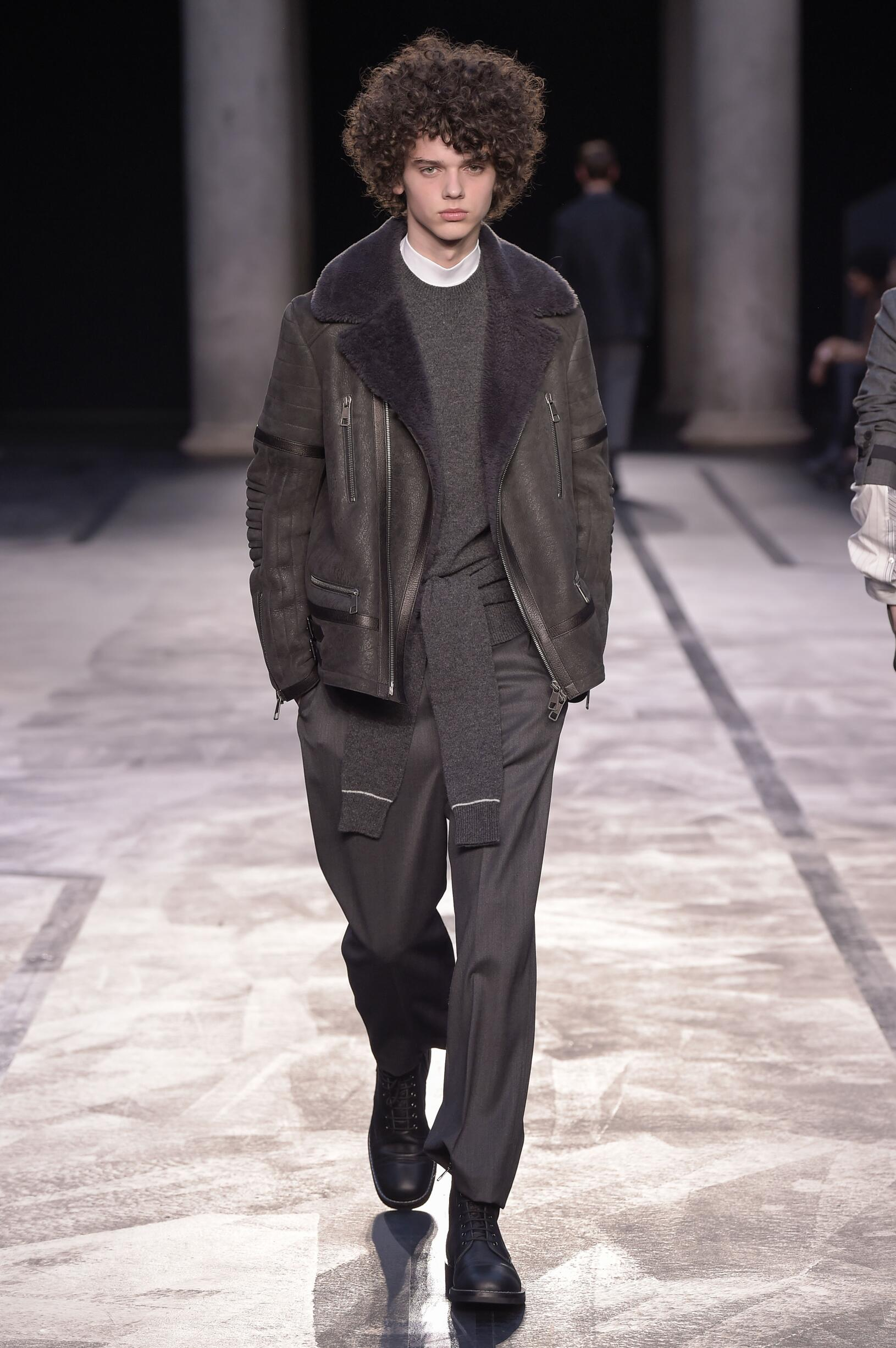 Menswear Winter Neil Barrett 2017