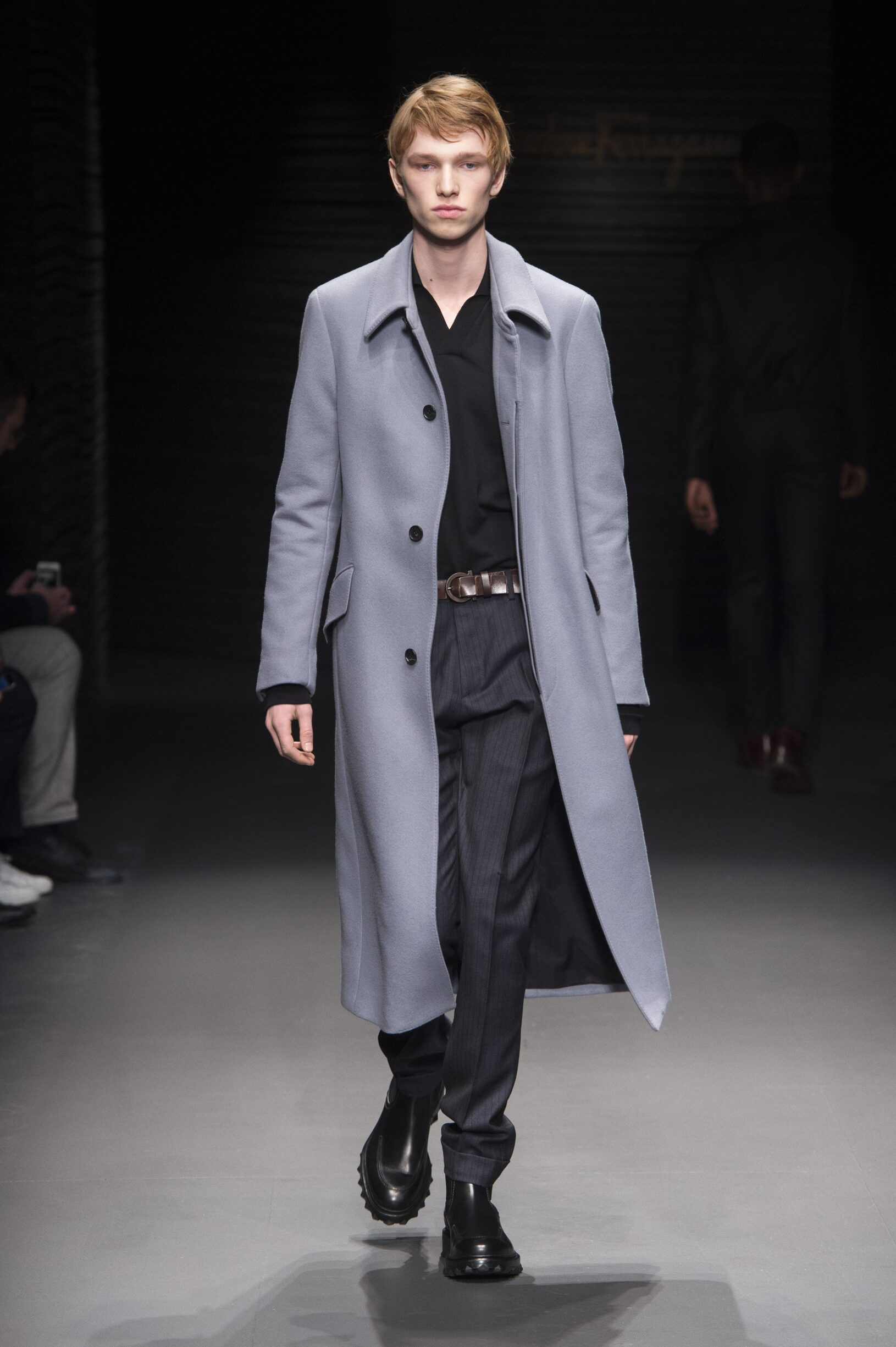 Menswear Winter Salvatore Ferragamo 2017