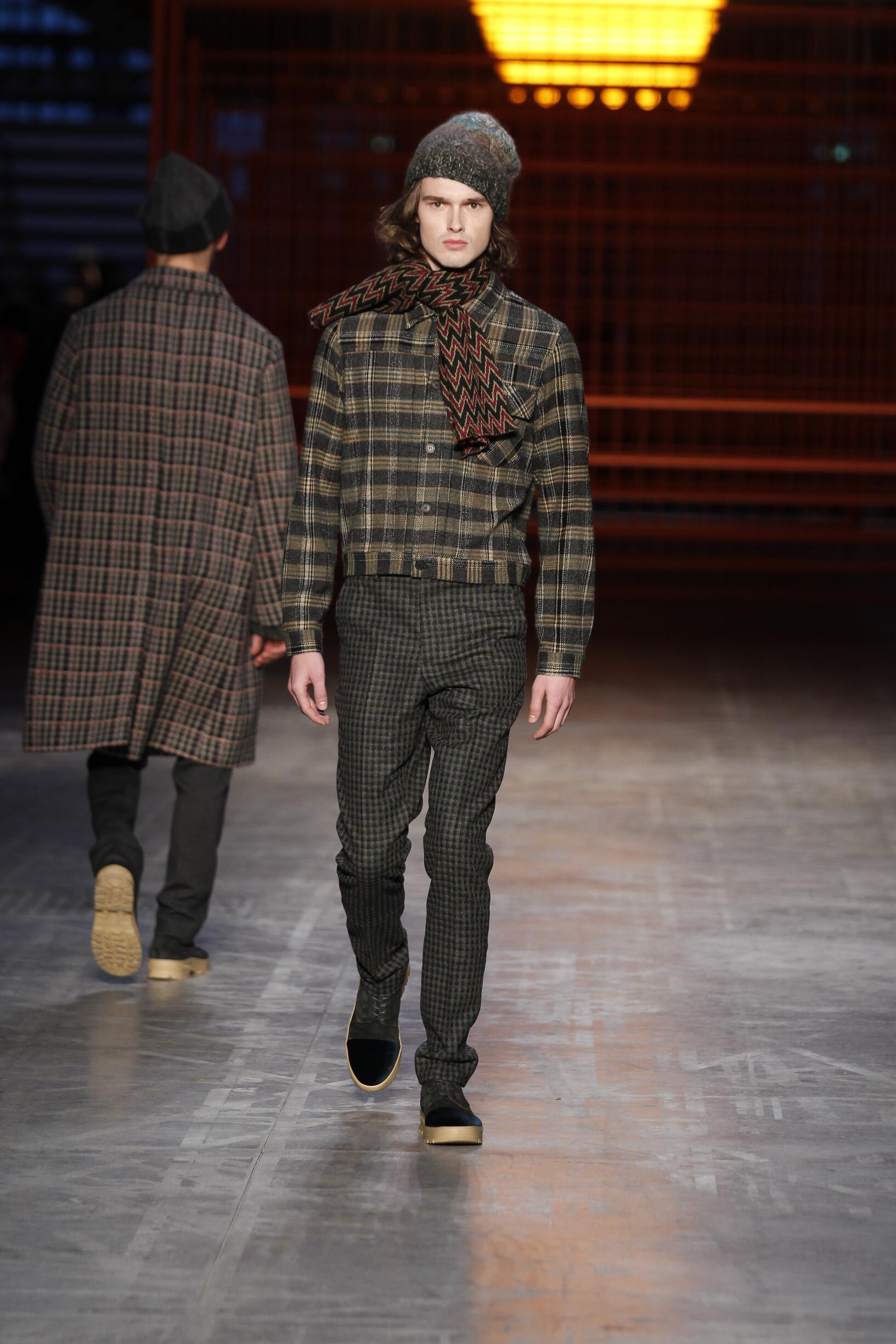 MISSONI FALL WINTER 2017-18 MEN'S COLLECTION