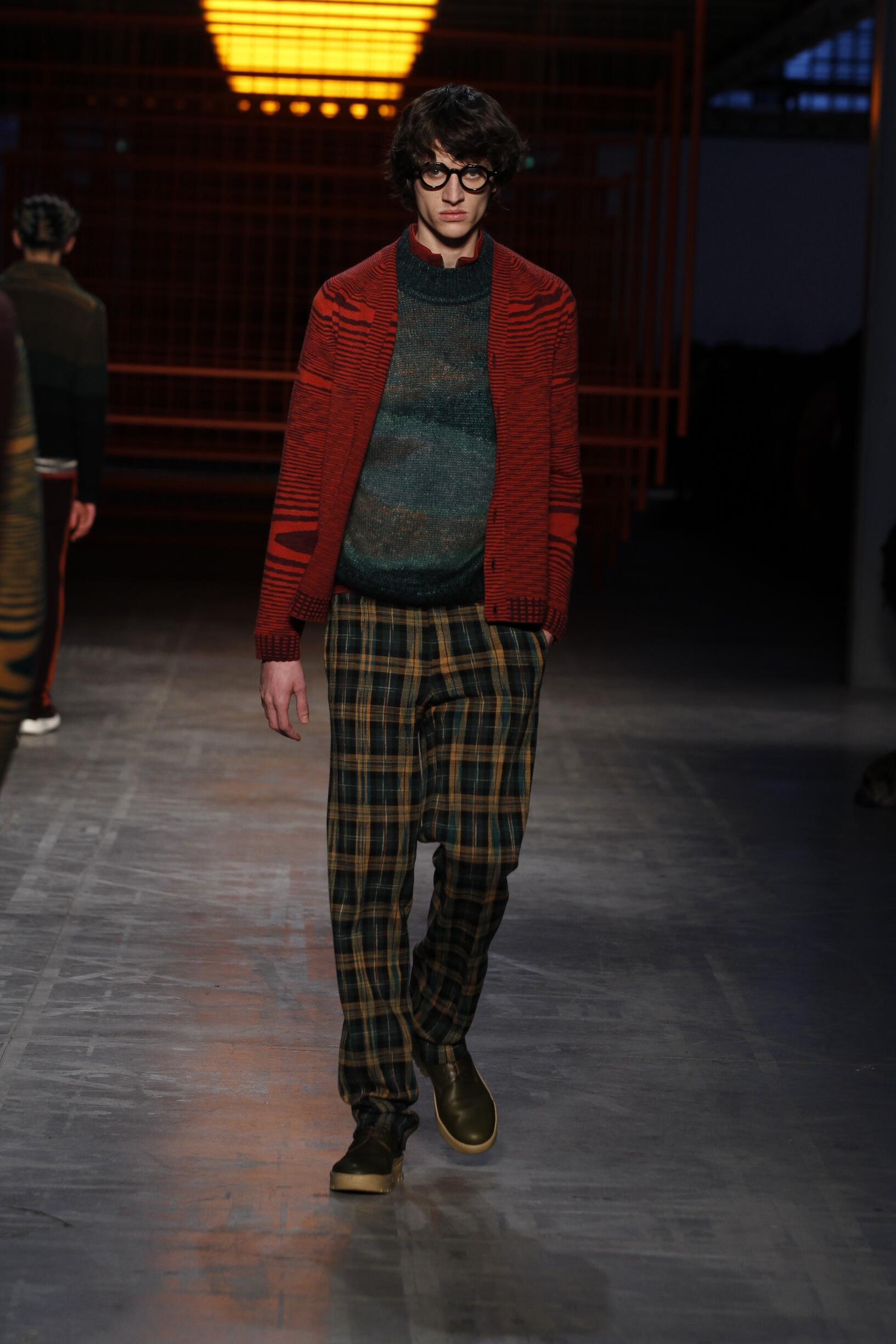 Missoni Milan Fashion Week Menswear