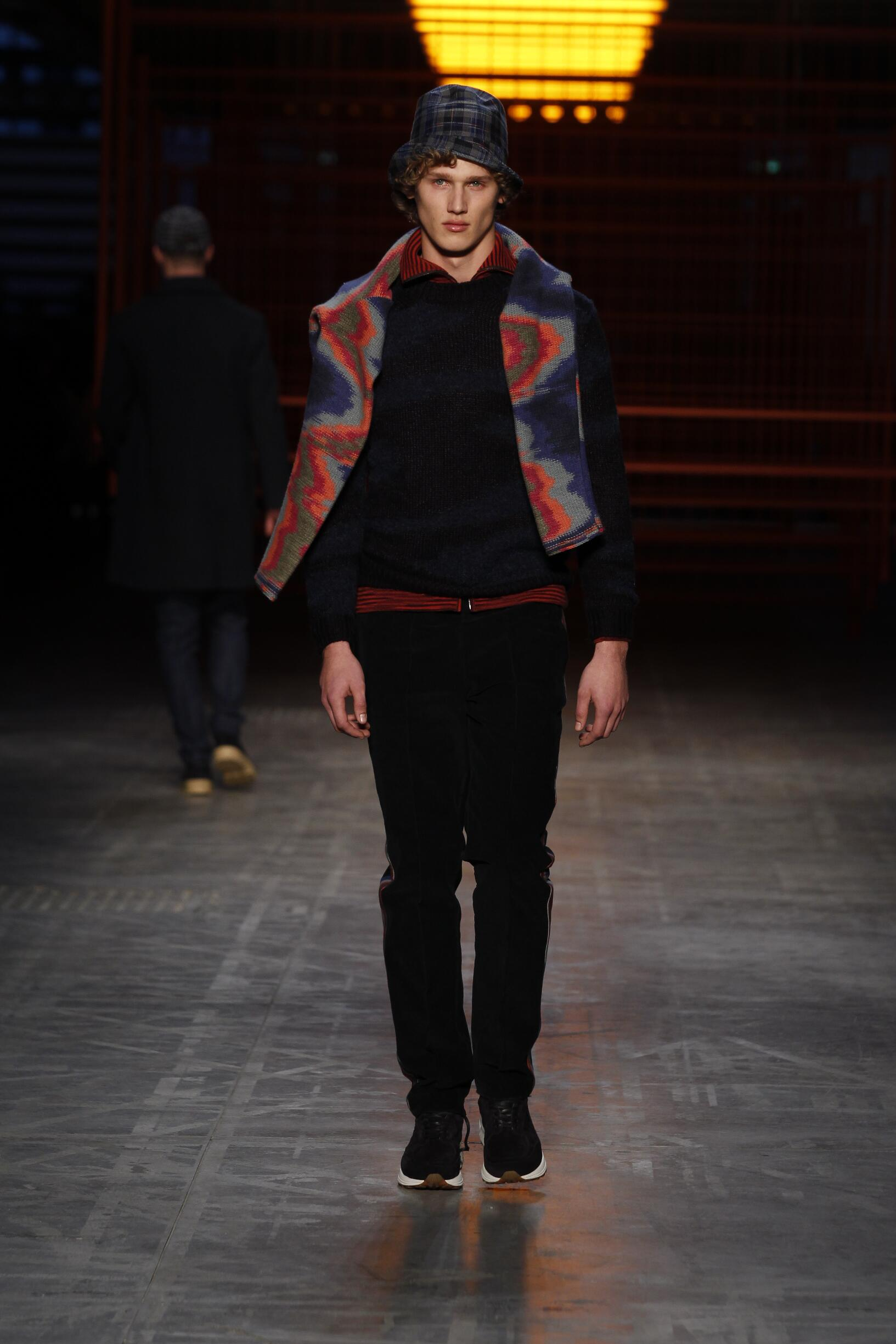 Missoni Fall Winter 2017 18 Men S Collection The Skinny Beep