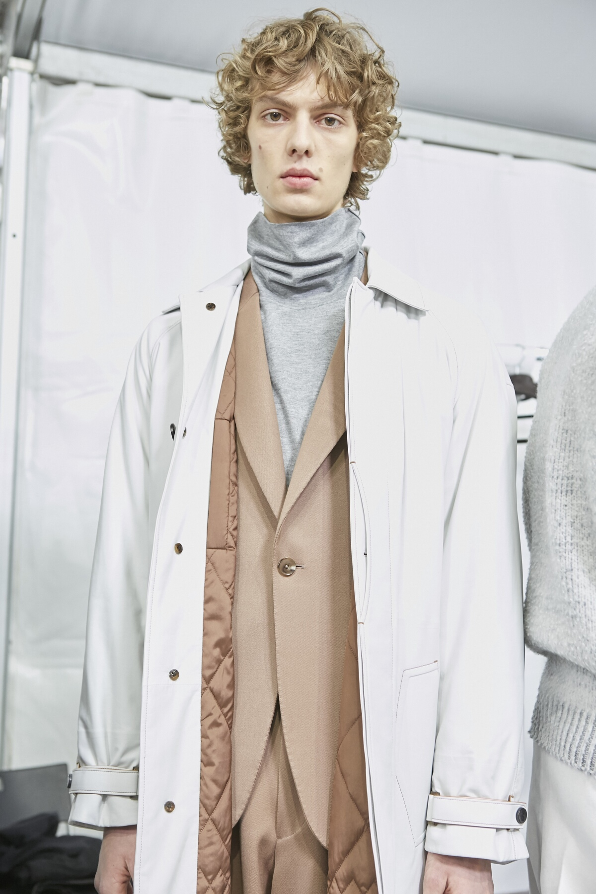 Model Ermenegildo Zegna Fall 17 18