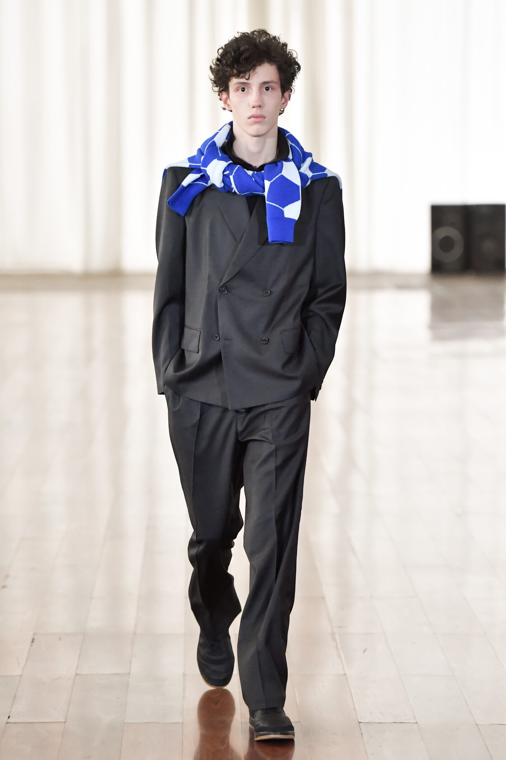 Model Fashion Show Gosha Rubchinskiy