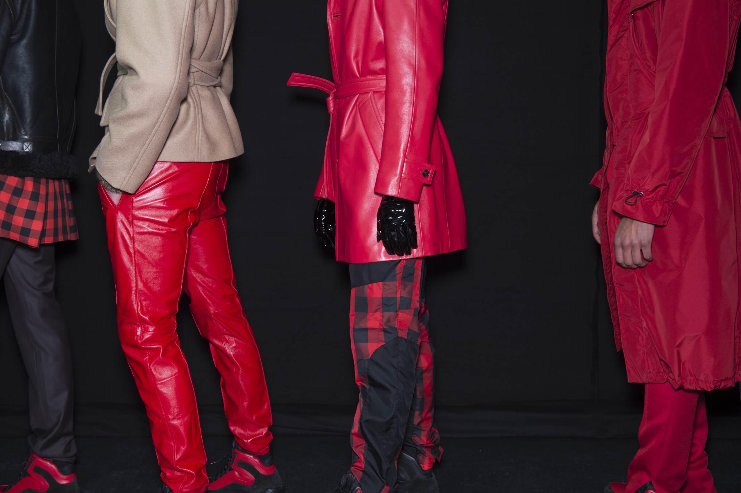Models Backstage Versace Milan Fashion week