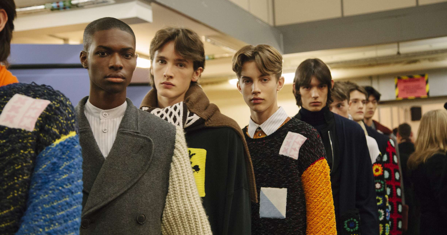 Models J.W Anderson Fall 17 London