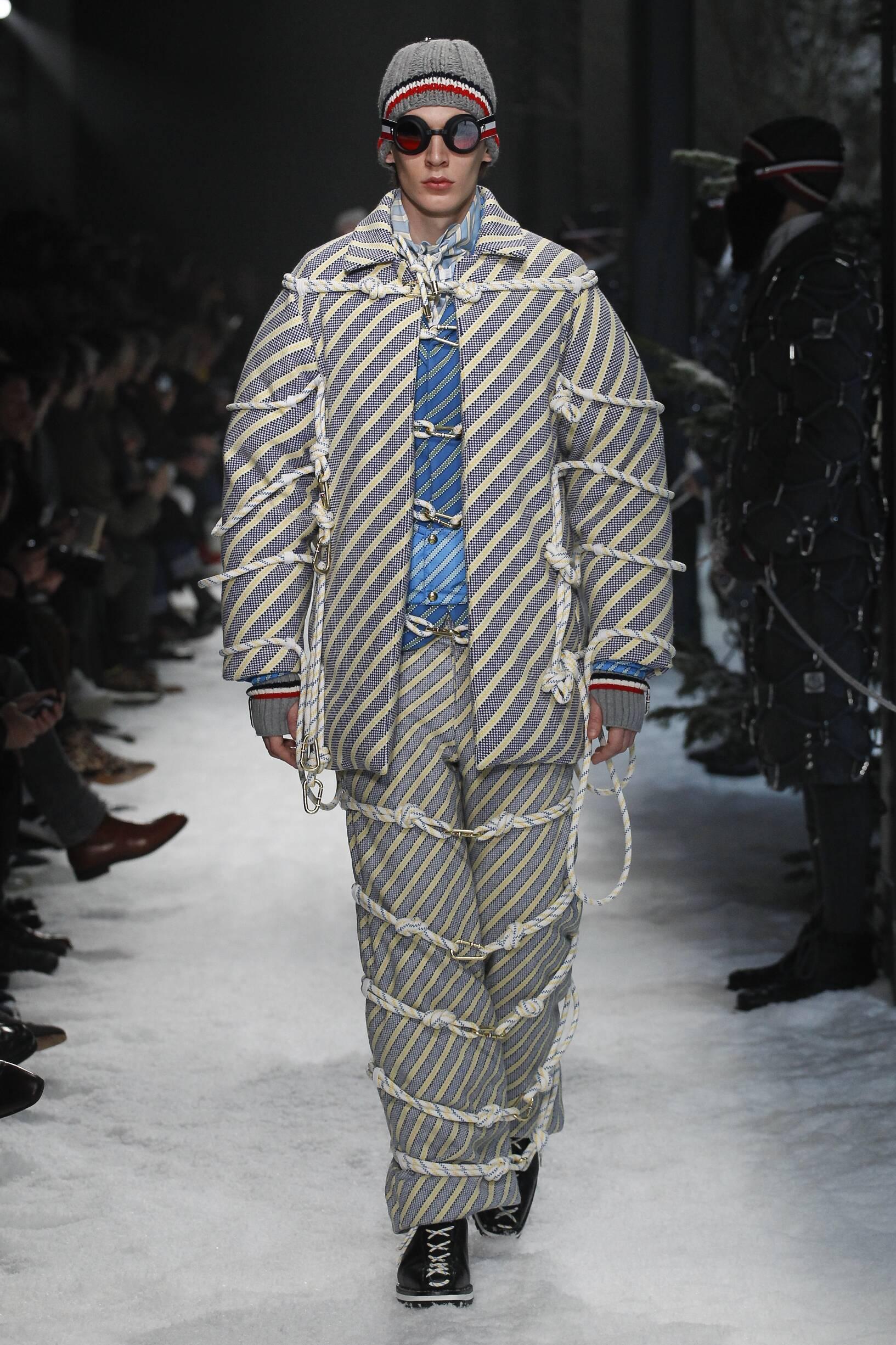 Moncler Gamme Bleu FW 2017 Menswear