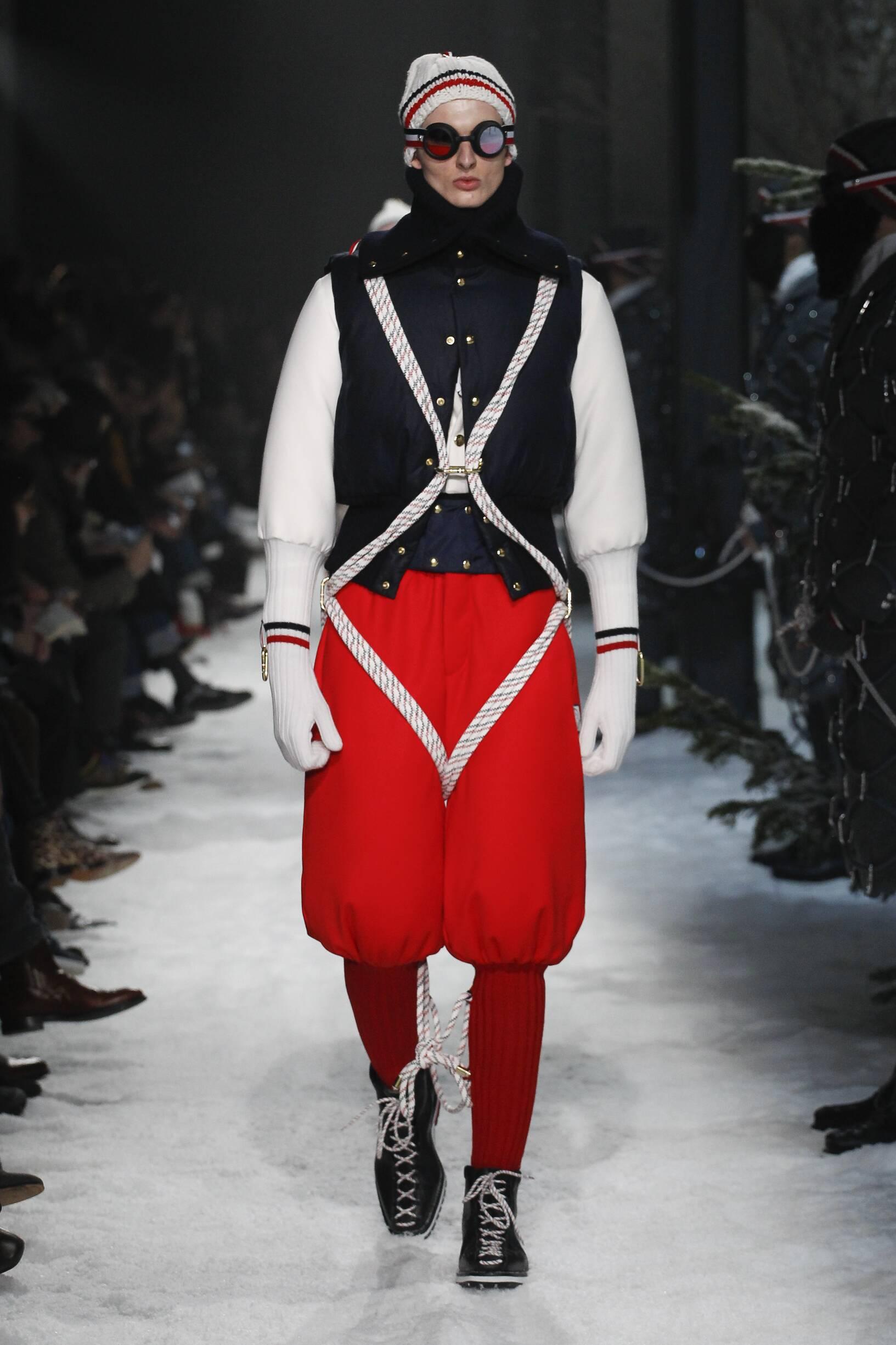 Moncler Gamme Bleu Fall Winter 2017 Mens Collection Milan Fashion Week