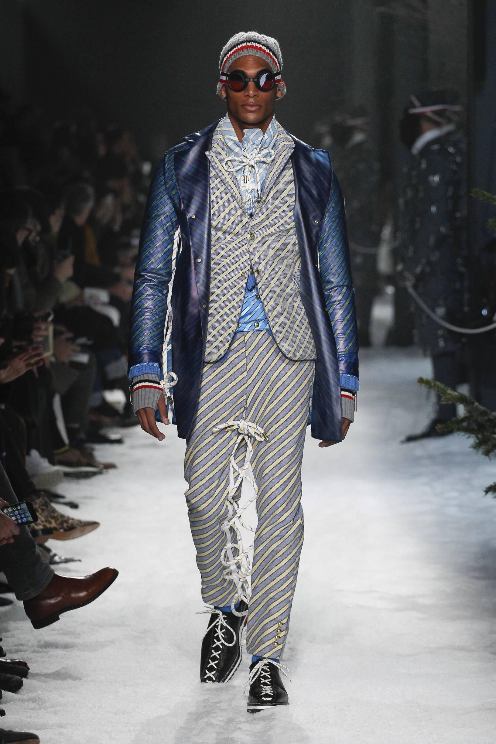 Moncler Gamme Bleu Fall Winter 2017