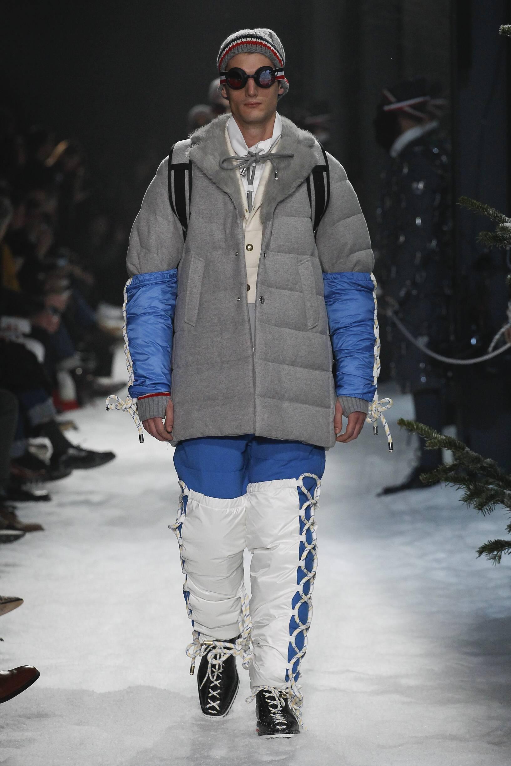 Moncler Gamme Bleu Fashion Show