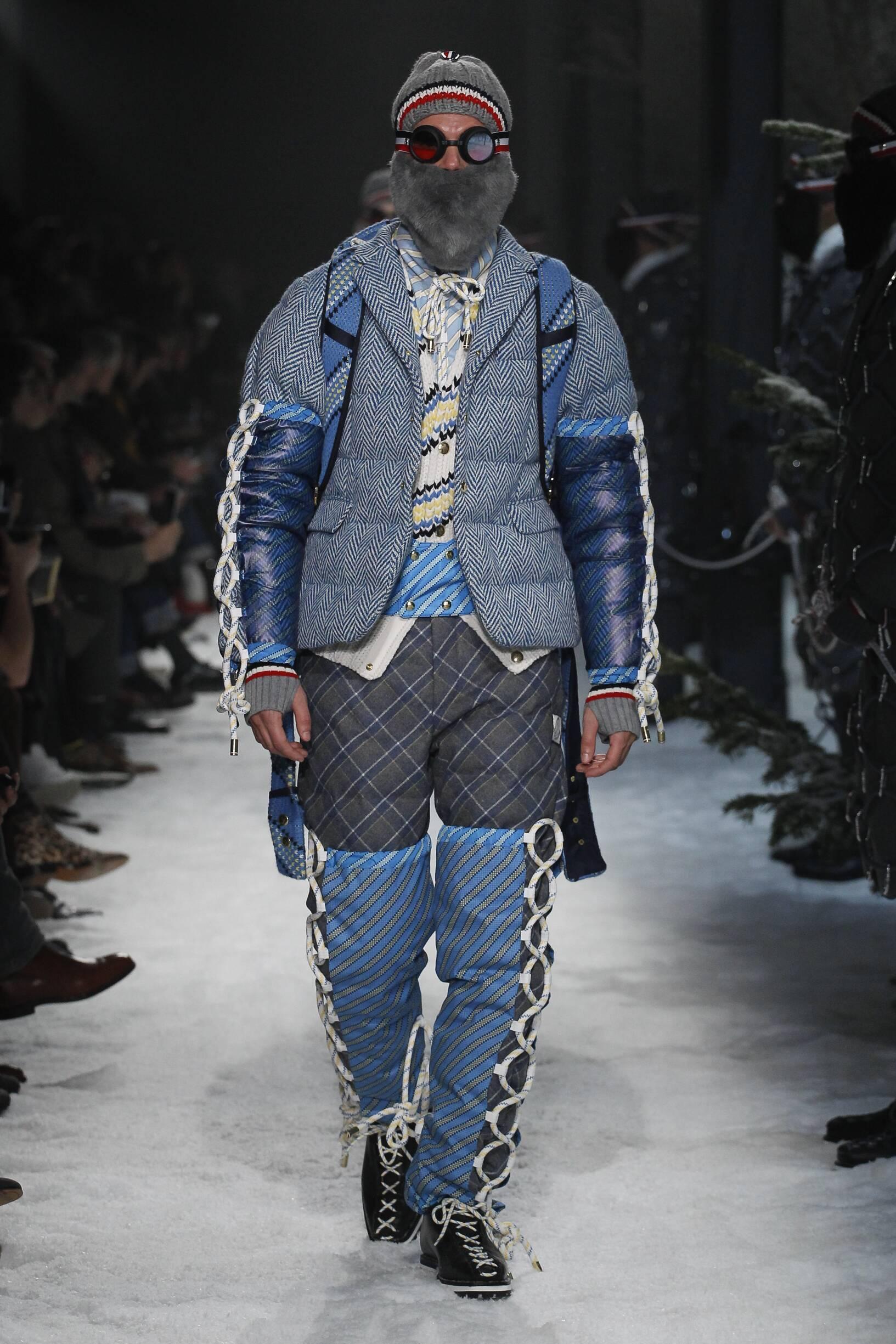 Moncler Gamme Bleu Men's Collection 2017