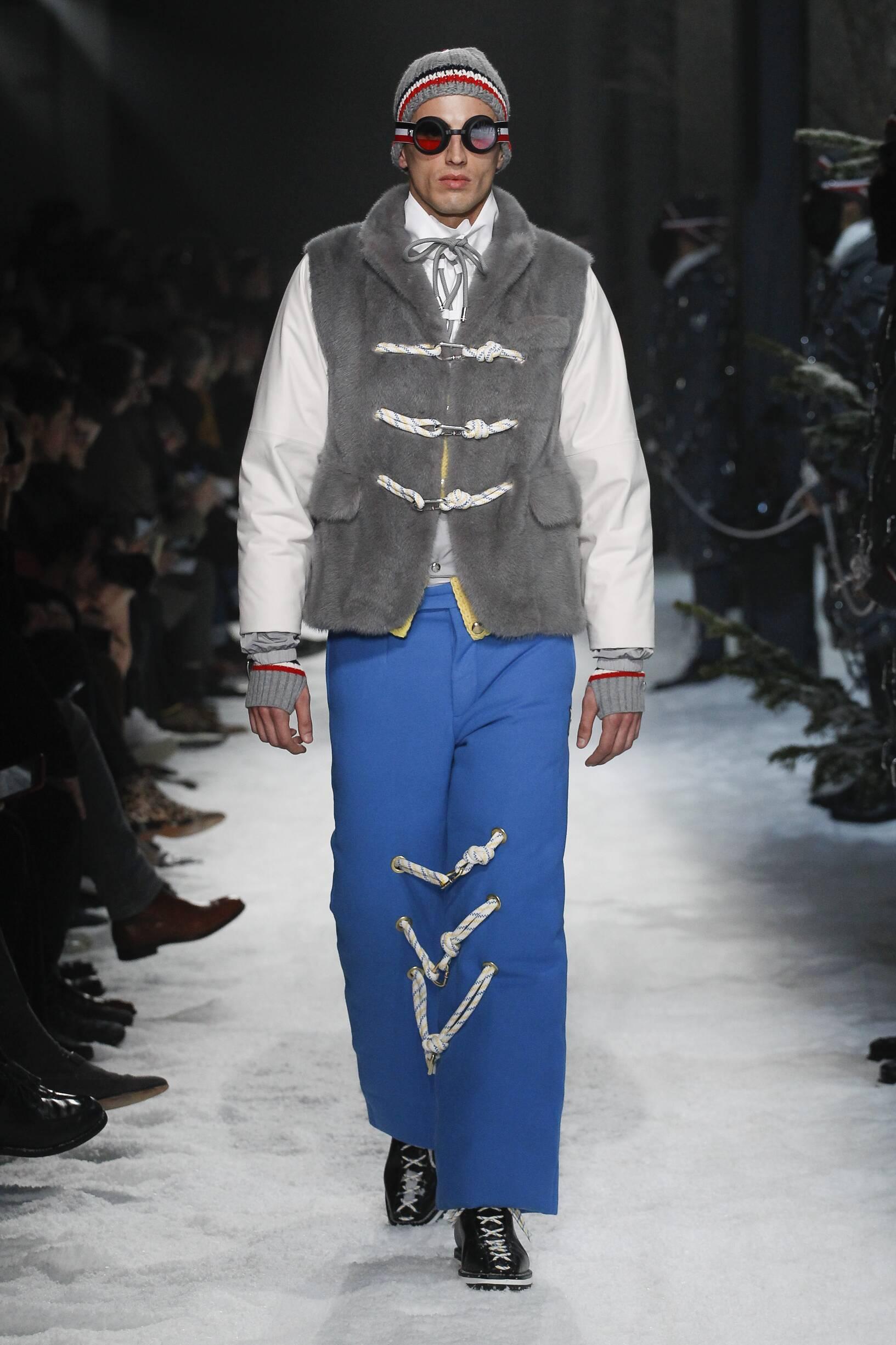 Moncler Gamme Bleu Milan Fashion Week Menswear