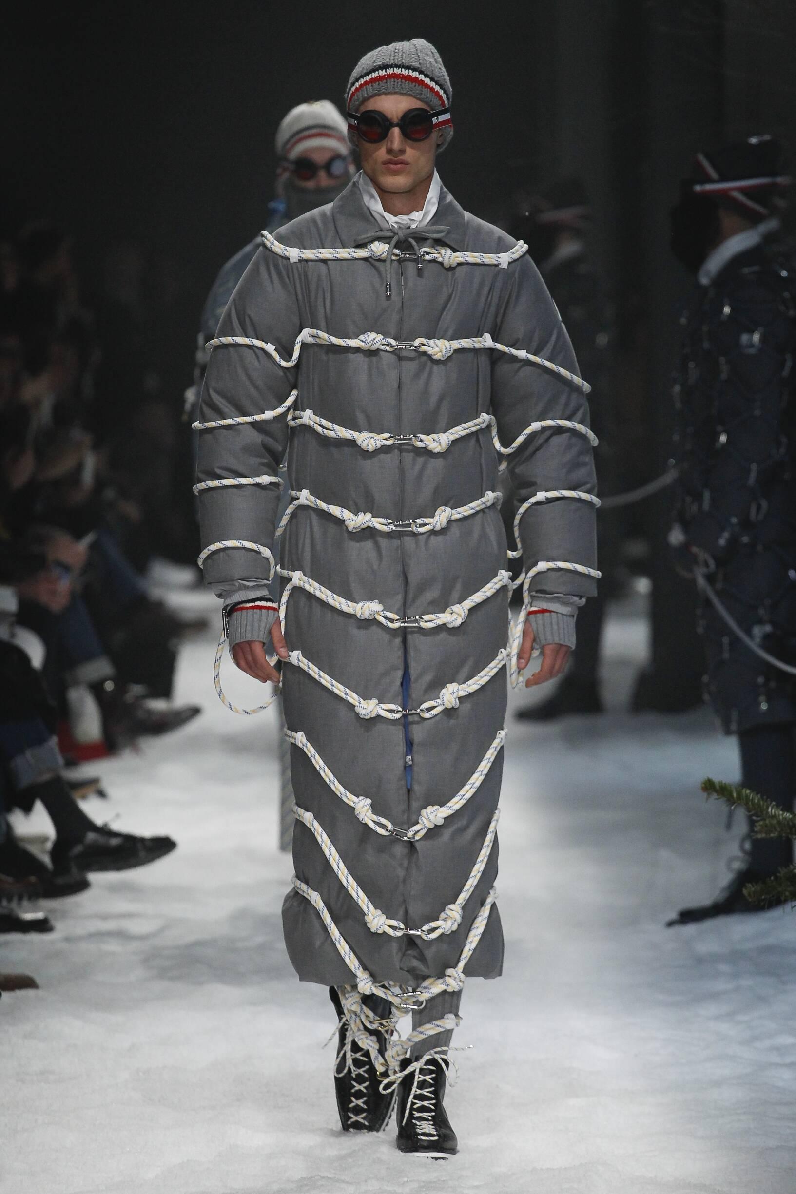 Moncler Gamme Bleu Milan Fashion Week