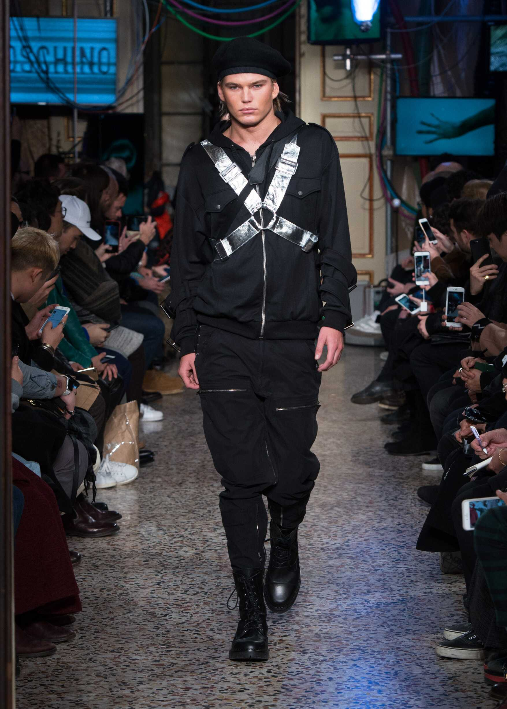 Moschino Fall Winter 2017 Mens Collection Milan Fashion Week