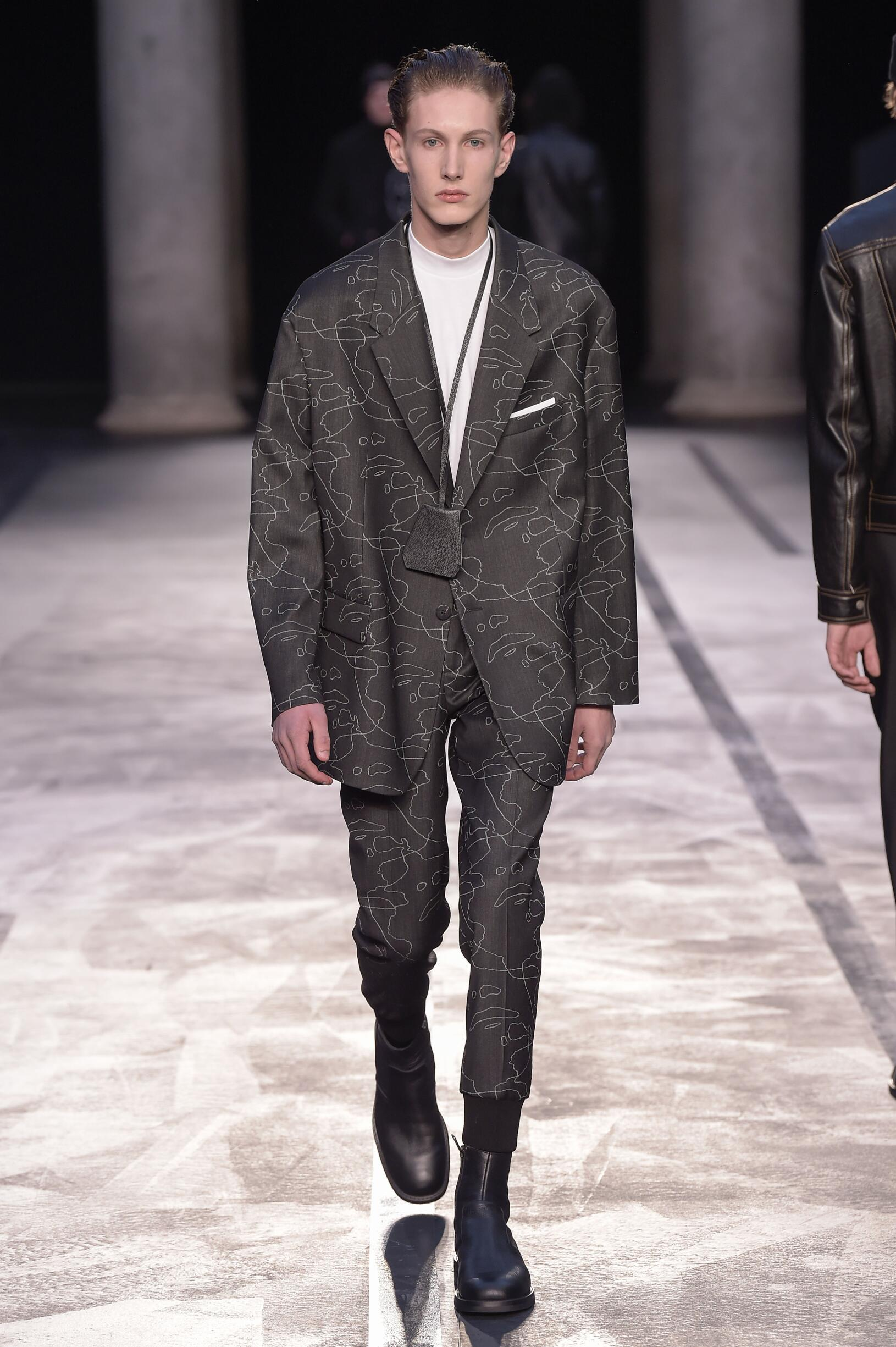 Neil Barrett Fall Winter 2017 Mens Collection Milan Fashion Week