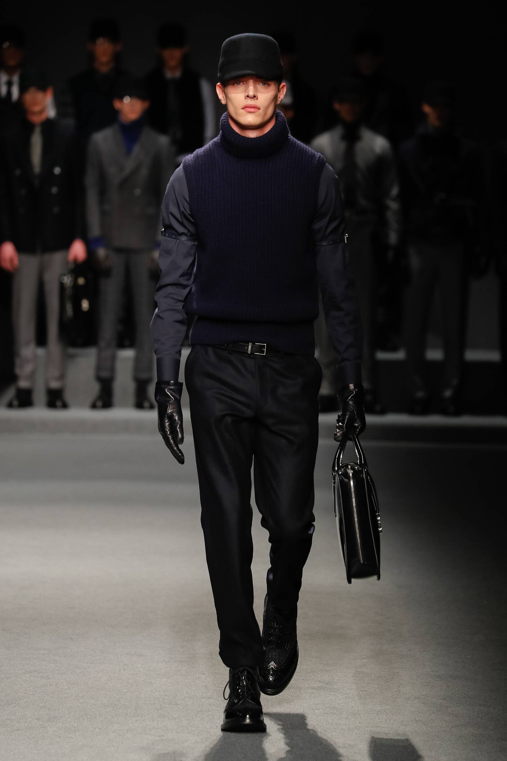 Runway Daks Fall Winter 2017 Men's Collection Milan Fashion Week