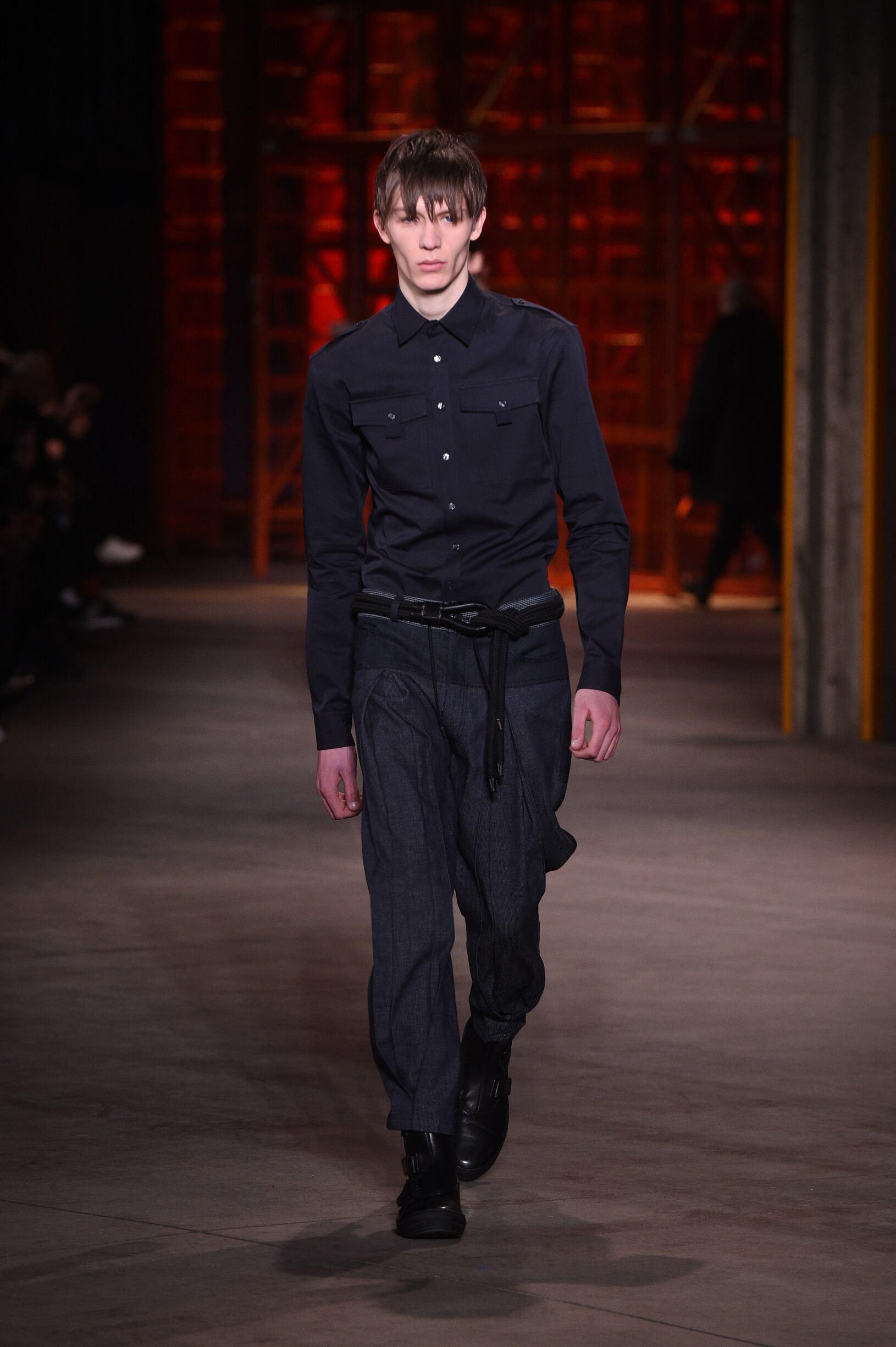 Runway Diesel Black Gold Fall Winter 2017 Men's Collection Milan Fashion Week