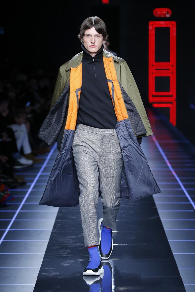 Runway Fendi Fall Winter 2017 Men's Collection Milan Fashion Week