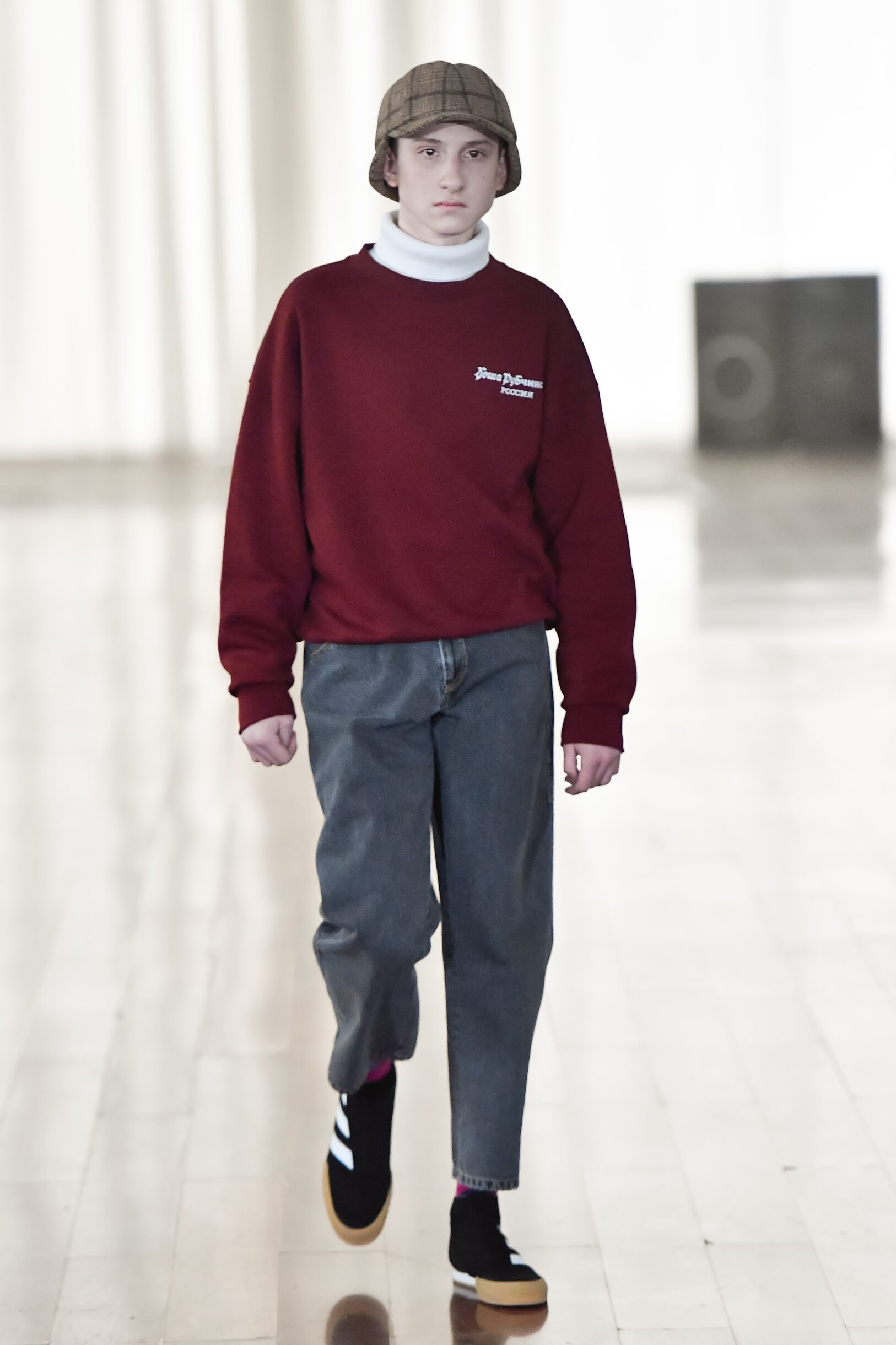 Runway Gosha Rubchinskiy Fall Winter 2017 Men's Collection Kaliningrad