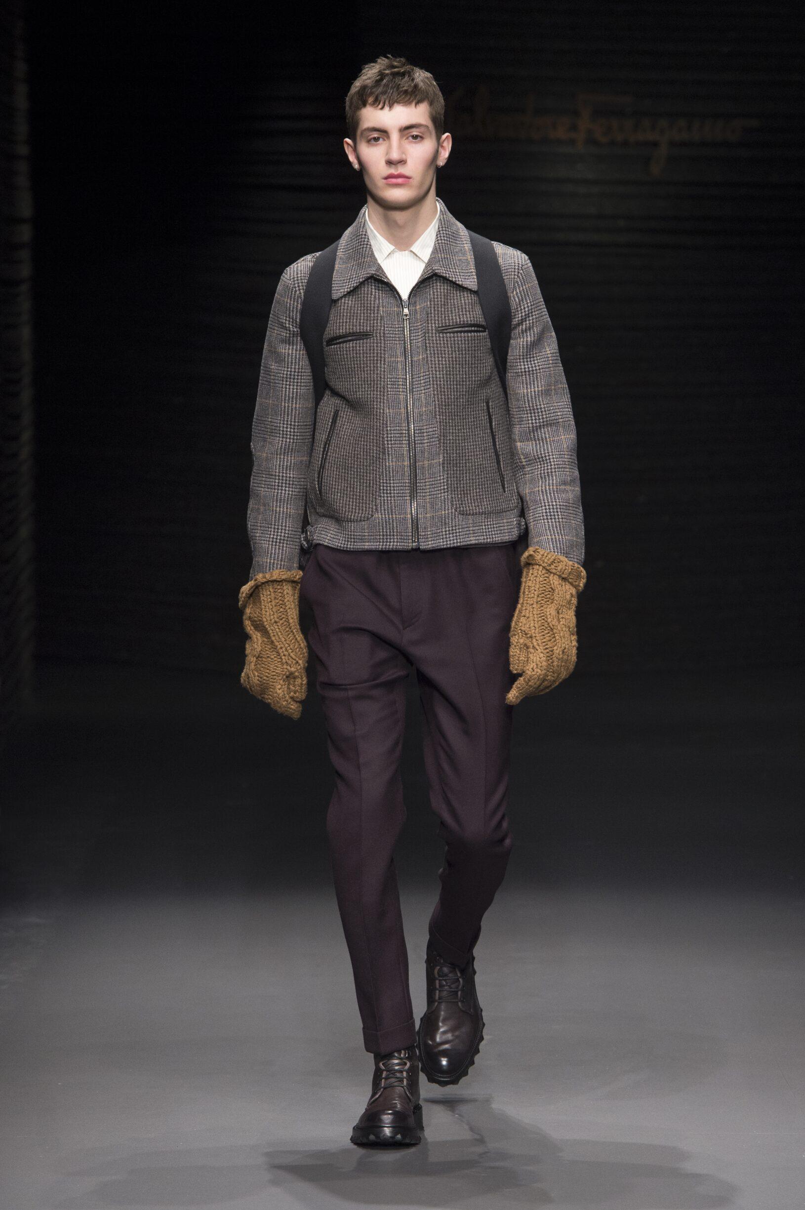 Salvatore Ferragamo FW 2017 Menswear