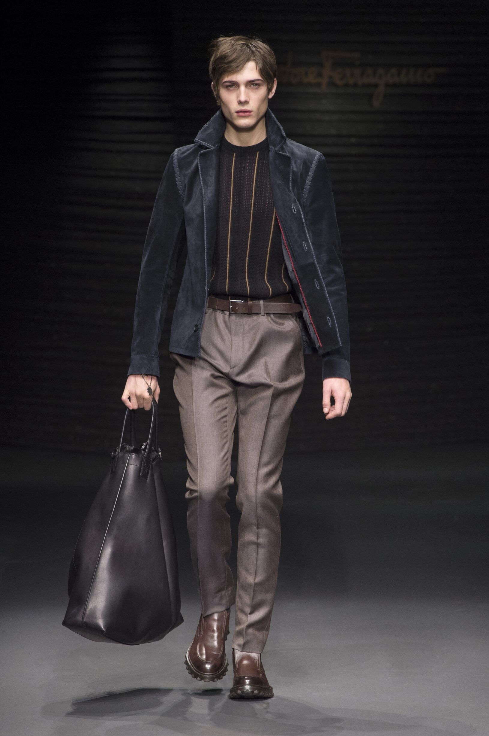 Salvatore Ferragamo Men's Collection 2017
