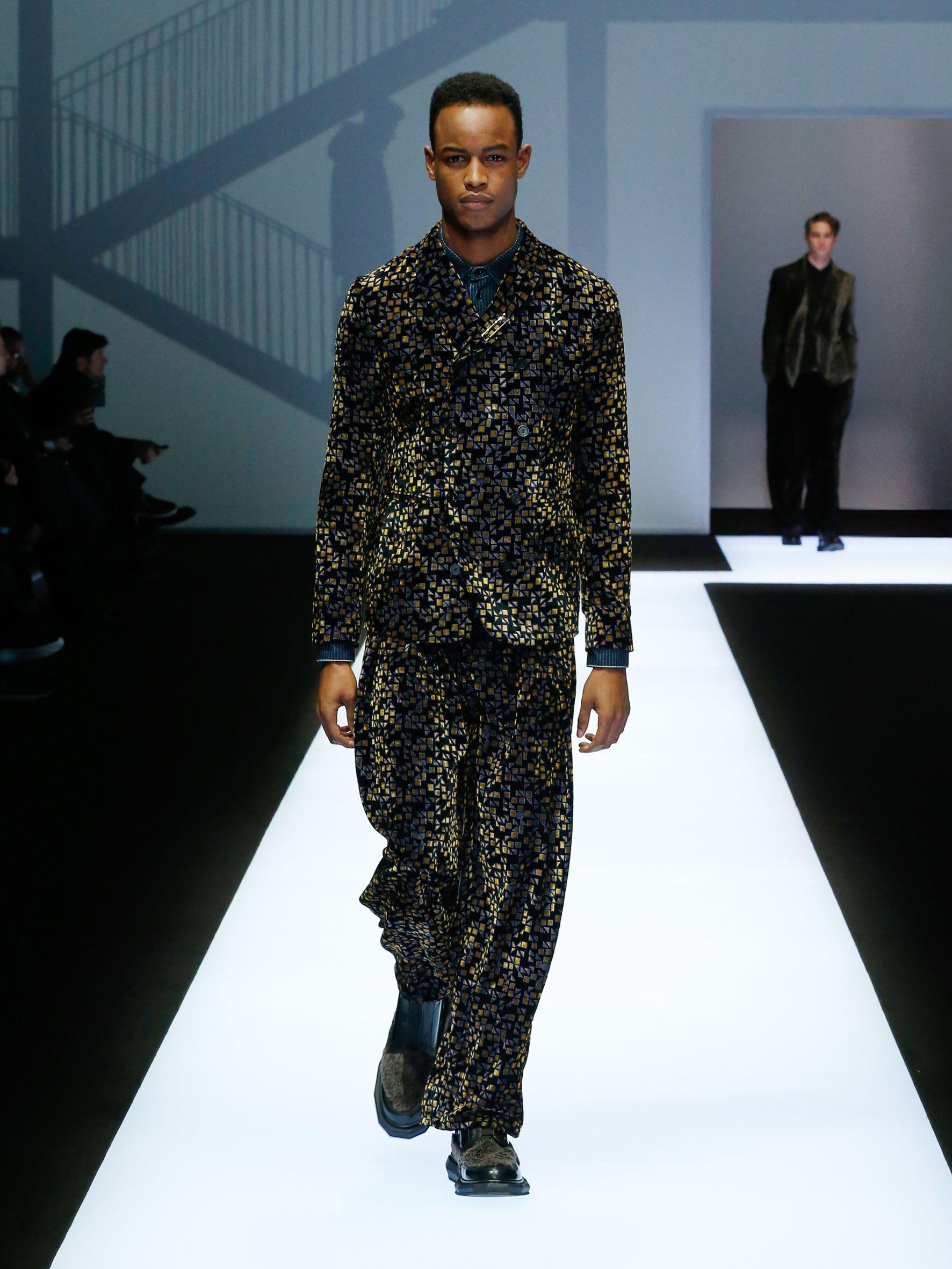 Winter 2017 Fashion Trends Emporio Armani