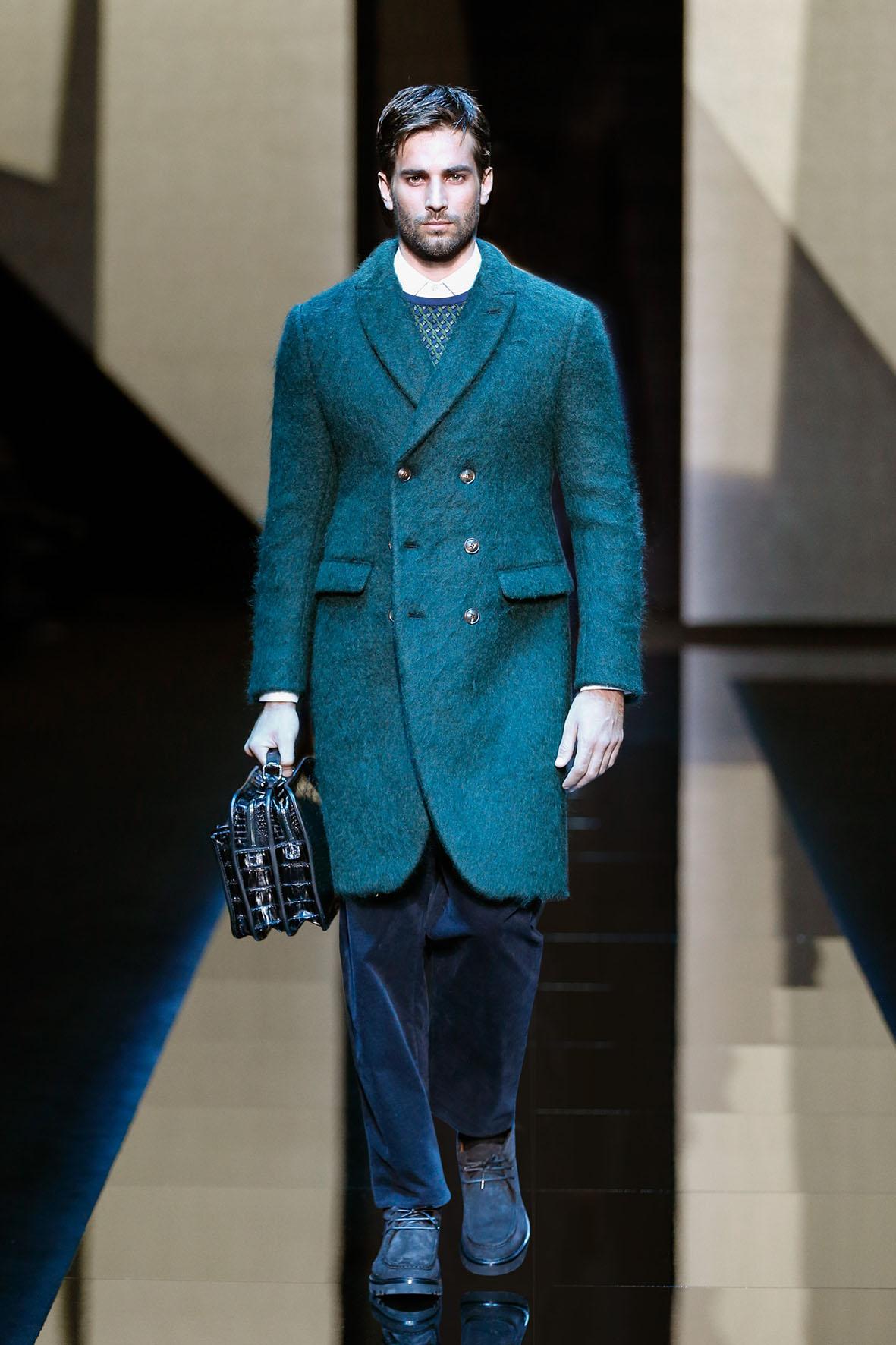 Winter 2017 Fashion Trends Giorgio Armani