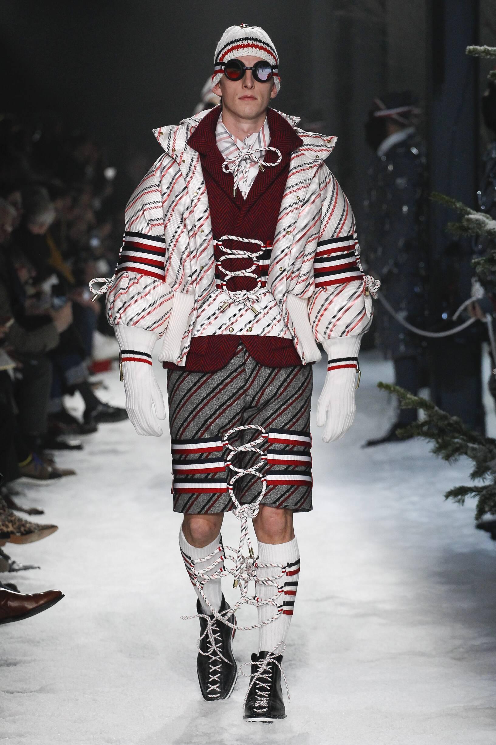 Winter 2017 Fashion Trends Moncler Gamme Bleu