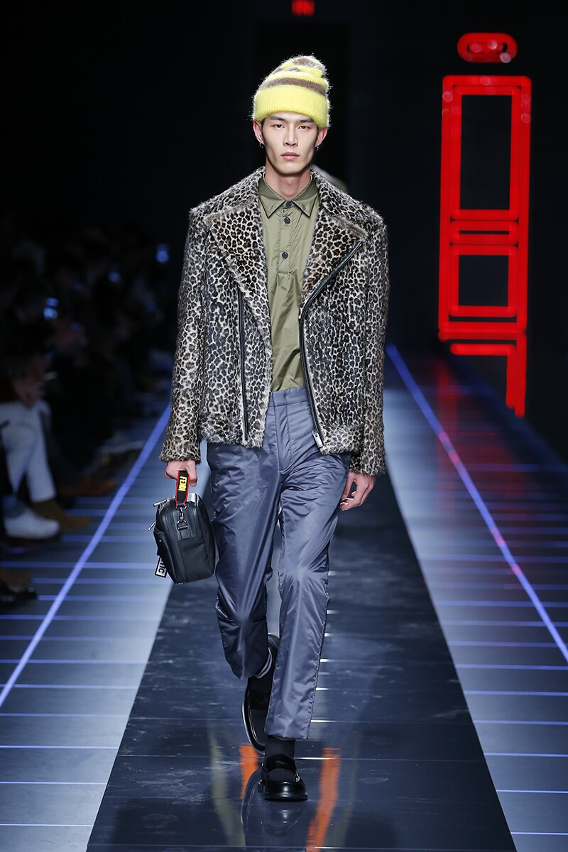 Winter 2017 Man Trends Fendi