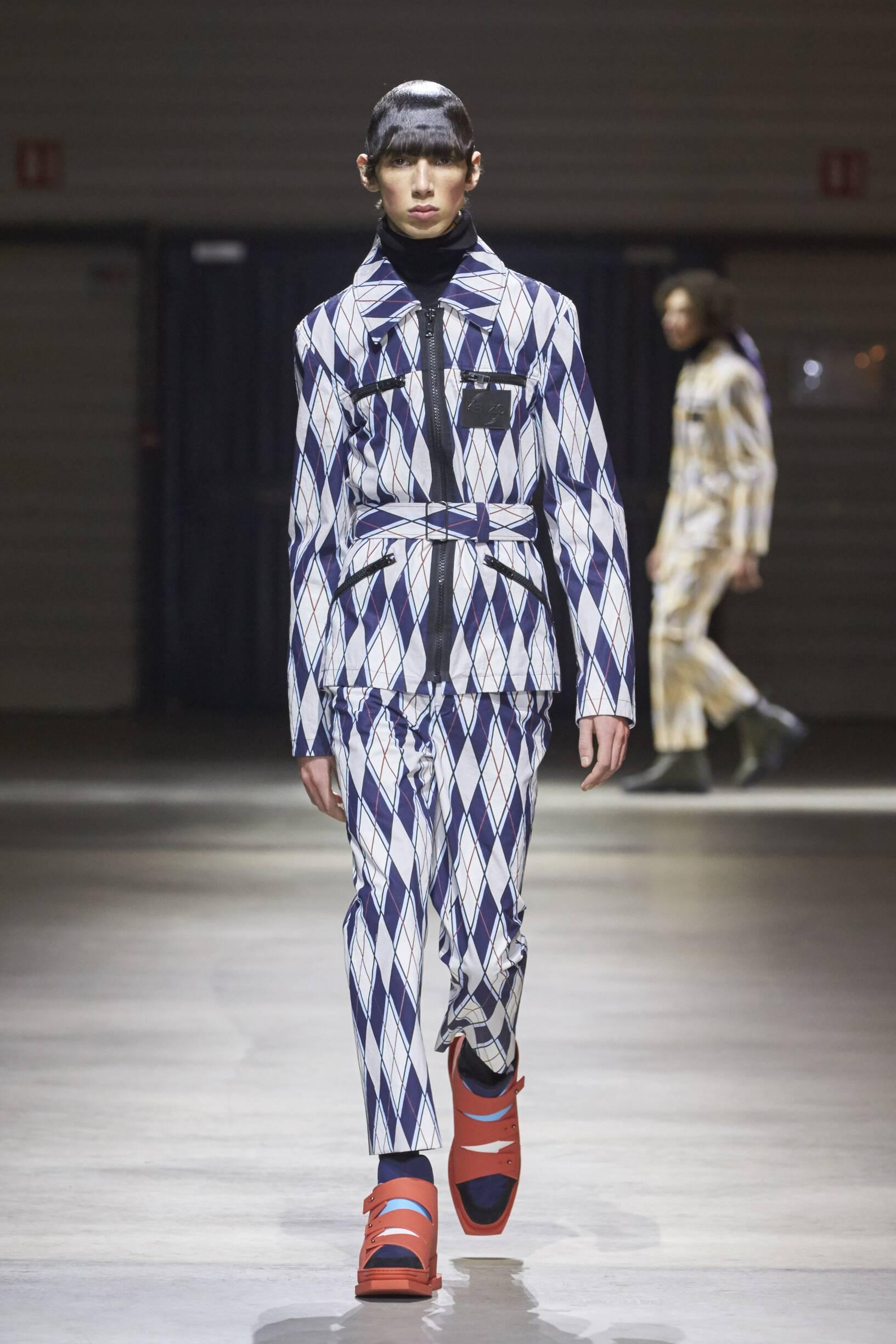 Winter 2017 Man Trends Kenzo