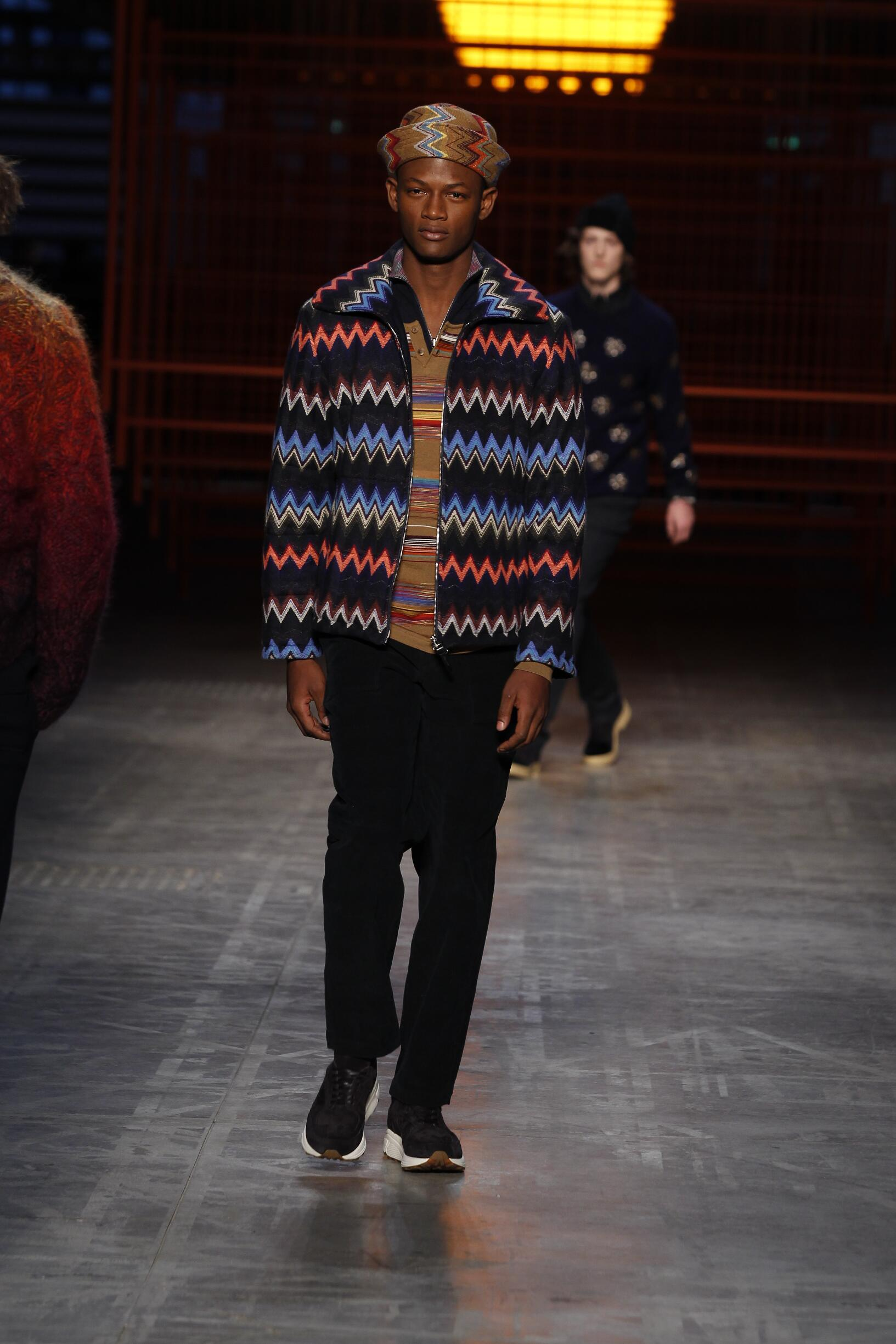 Winter 2017 Man Trends Missoni